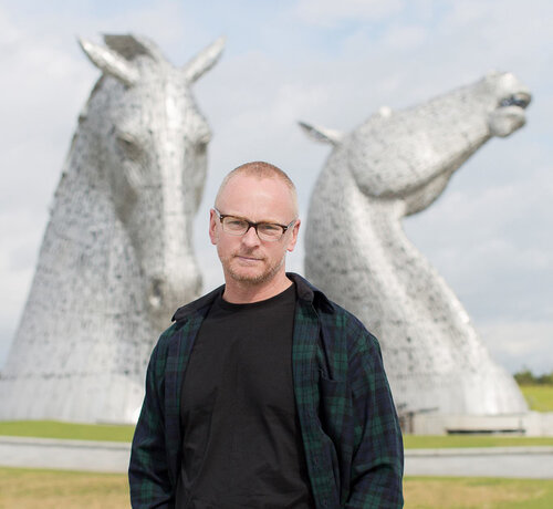 photo of Andy Scott, The Kelpies sculptor