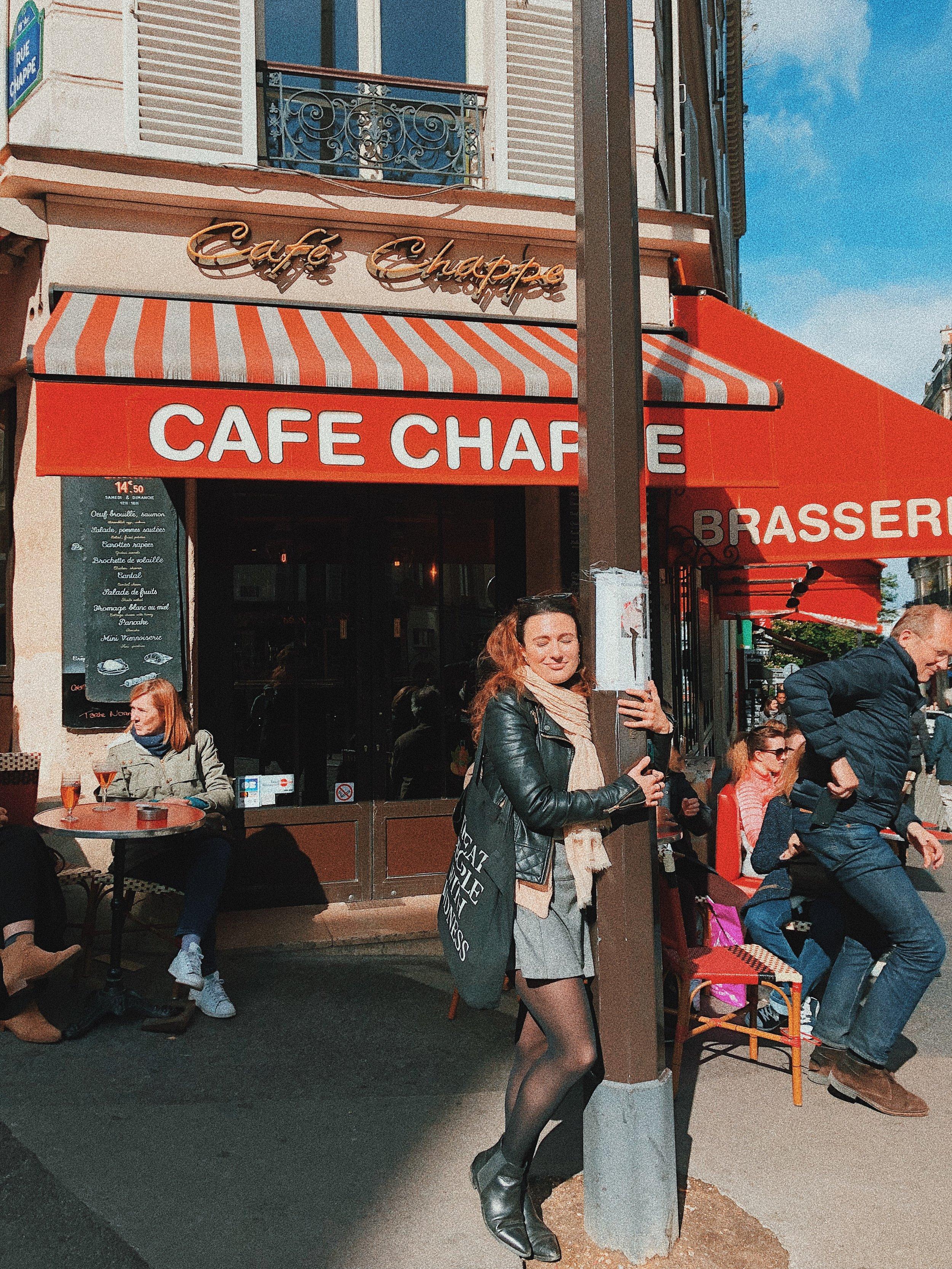 paris cafe chappe