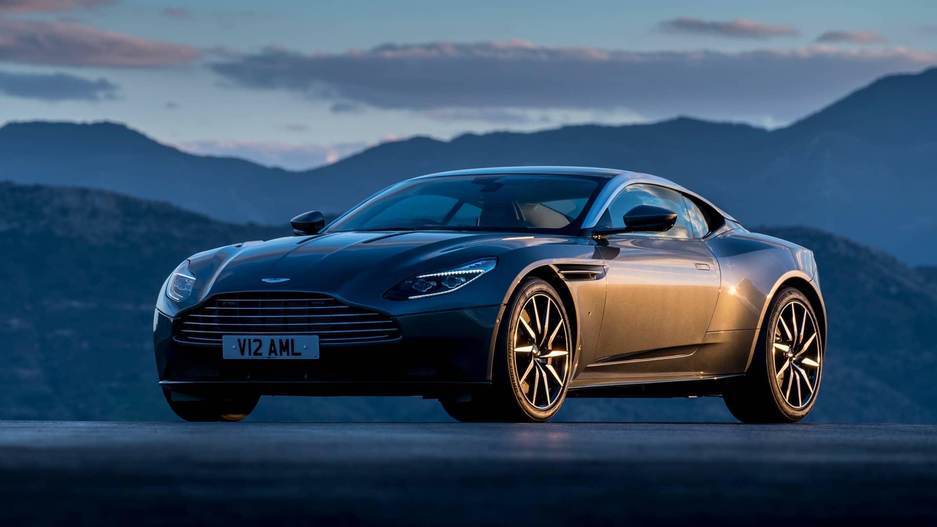 Aston Martin global website