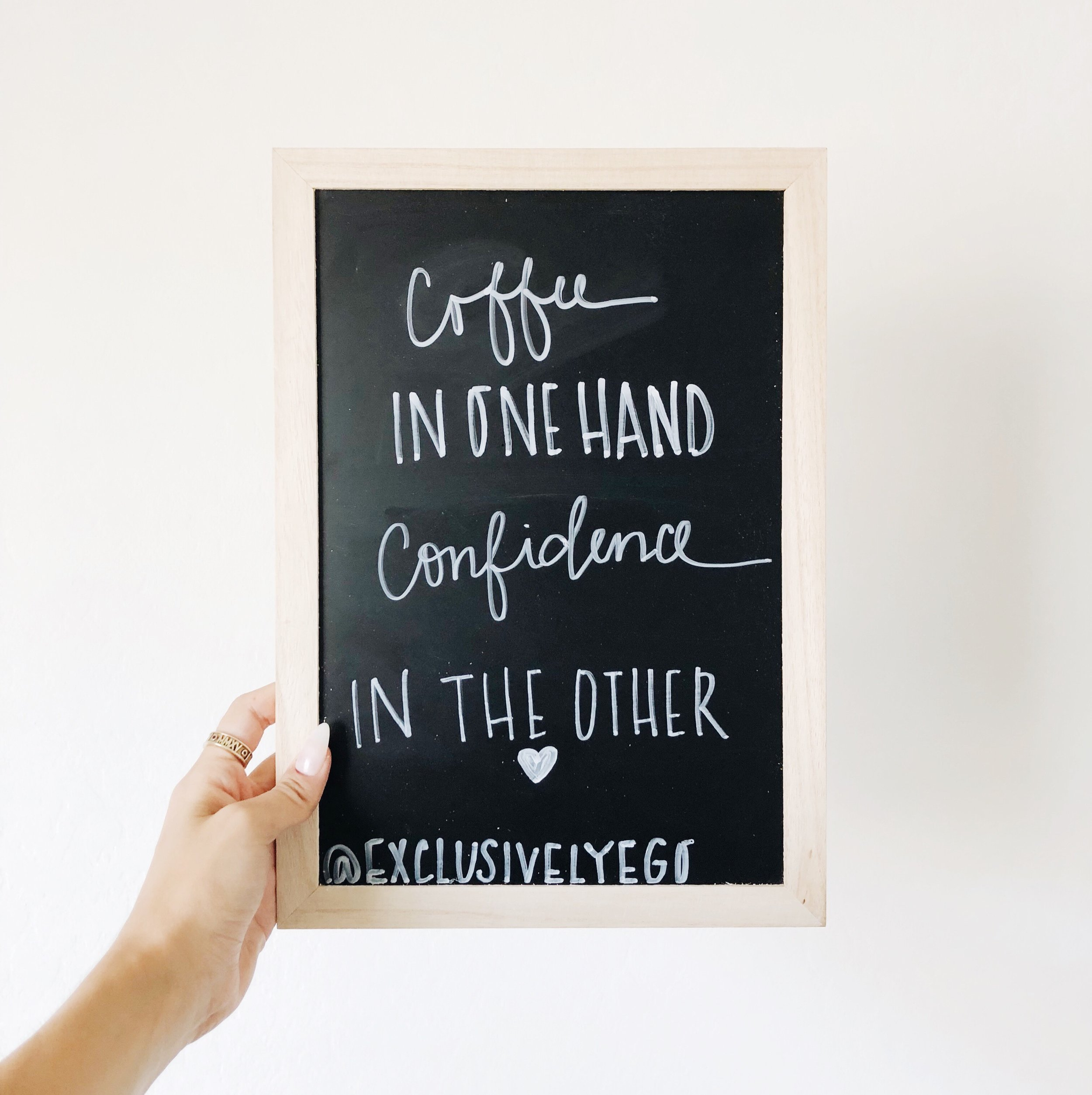 Confidence and Coffee
