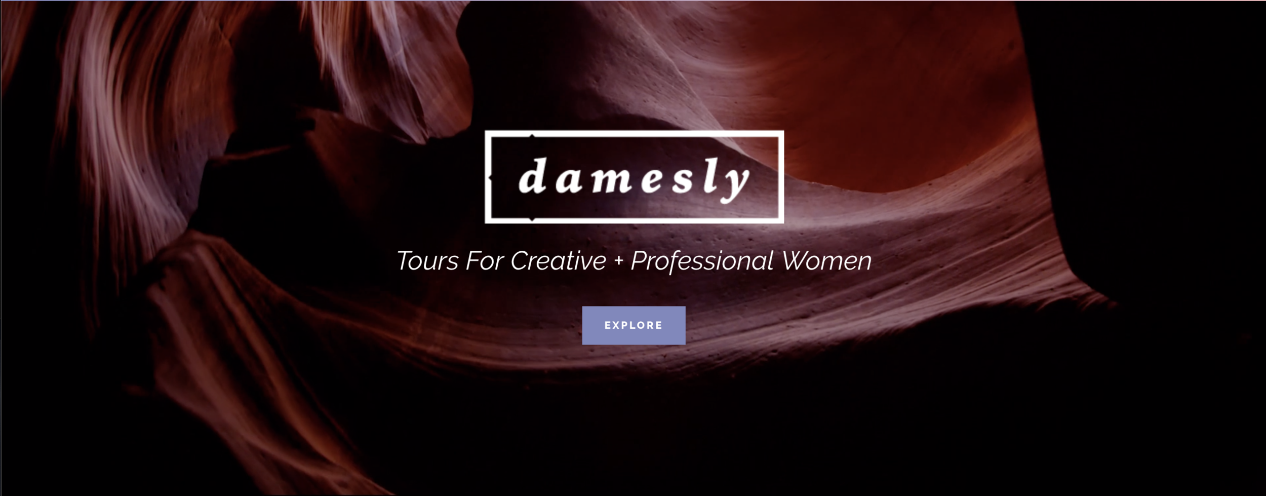Bryn leads a photography workshop to the Grand Canyon and Antelope Canyon with Damesly - a travel agency for women.