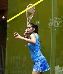 Dipika Pallikal Karthik (India) - World #21   Chennai-born Dipika Pallikal is one of India's best female players ever and is the first Indian to break into the top 10 in the World Rankings. She started her career promisingly and she reached the final of the Chennai Open in 2008, beating the first and third seeds on the way. Her first Tour title would come two years later when she toppled the top two seeds to claim the Indian Challenger No.5 crown. She started 2011 inside the world's top 30 and won a number of titles throughout the year to breach the top 20. Pallikal made it to the final of the prestigious Tournament of Champions in January 2012 but she was comfortably beaten by Natalie Grinham and in December she found a place in the top ten for the first time. The Indian captured two titles in 2013 with a big win at the Macau Open in October proving a particular highlight. After starring on the JSW Circuit in 2014, Pallikal picked up her 10th Tour title in January 2015 after triumphing at the Winter Club Open.