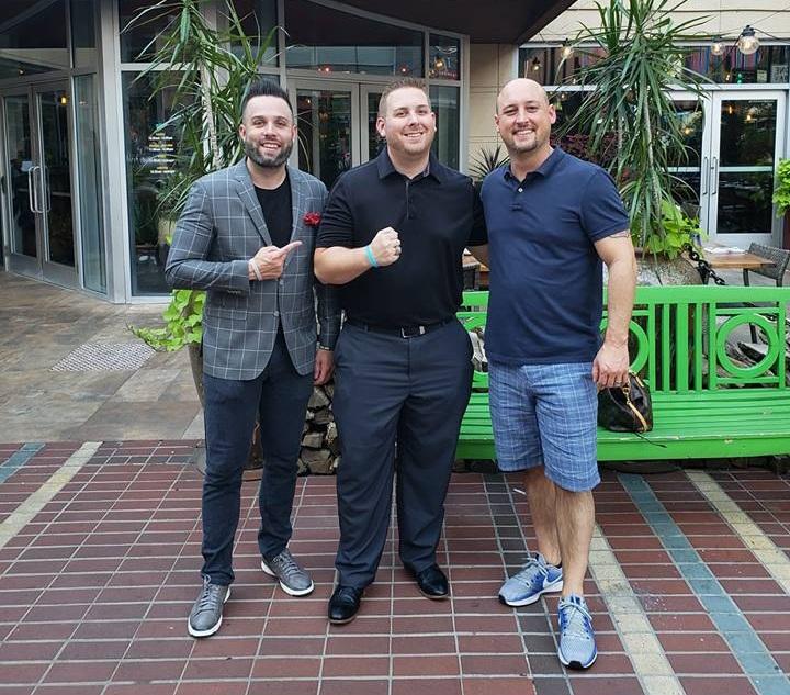 Justin Gurtner with Riverside CEO, Brandon Skinner, and VP of Sales, Jeremy Shroyer