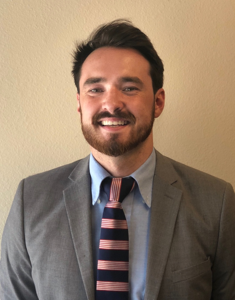 - Zachary Sielickyis our newest addition and will be taking the role of campaign manager. Zachary is a recent graduate from the University of Oregon with a degree in Political Science and History and comes to us with experience in public policy, data analysis, and volunteer coordination.