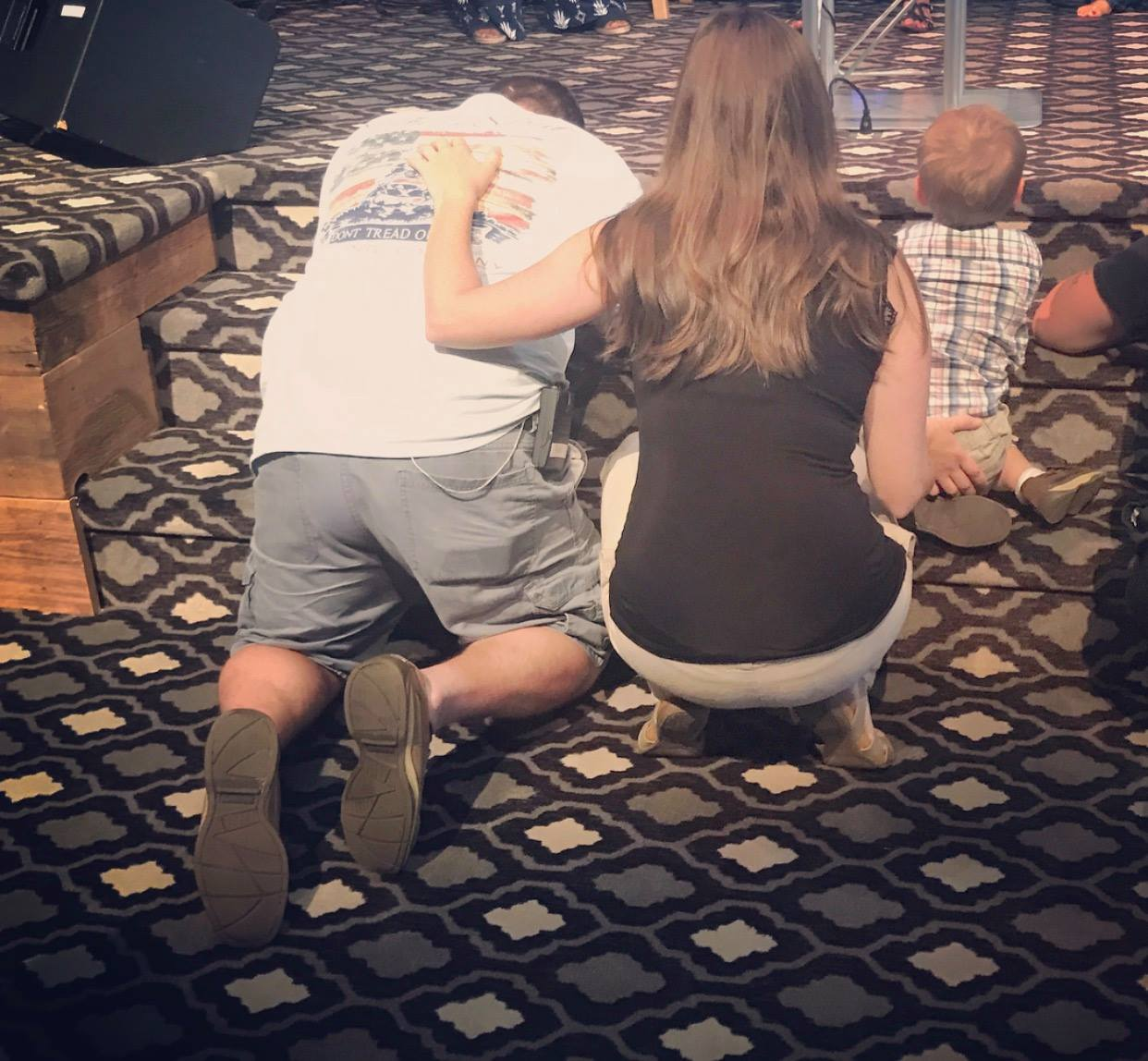 Someone took this picture of me, Rob and Bo one Sunday morning during worship last summer. This picture is priceless and is part of the reason I know why God has me here in NY.