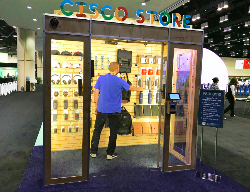 June 11, 2018 - DeepMagic powered Cisco Mini Store went live at Cisco Live in Orlando. Check out the automated mini store at the World of Solutions and what shoppers have to say.