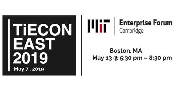 May 7, 2019 - DeepMagic will be in Boston. We will be presenting at TiECON East on May 7th and MIT Forum Launch Clinic on May 13th. Come out to meet our team.