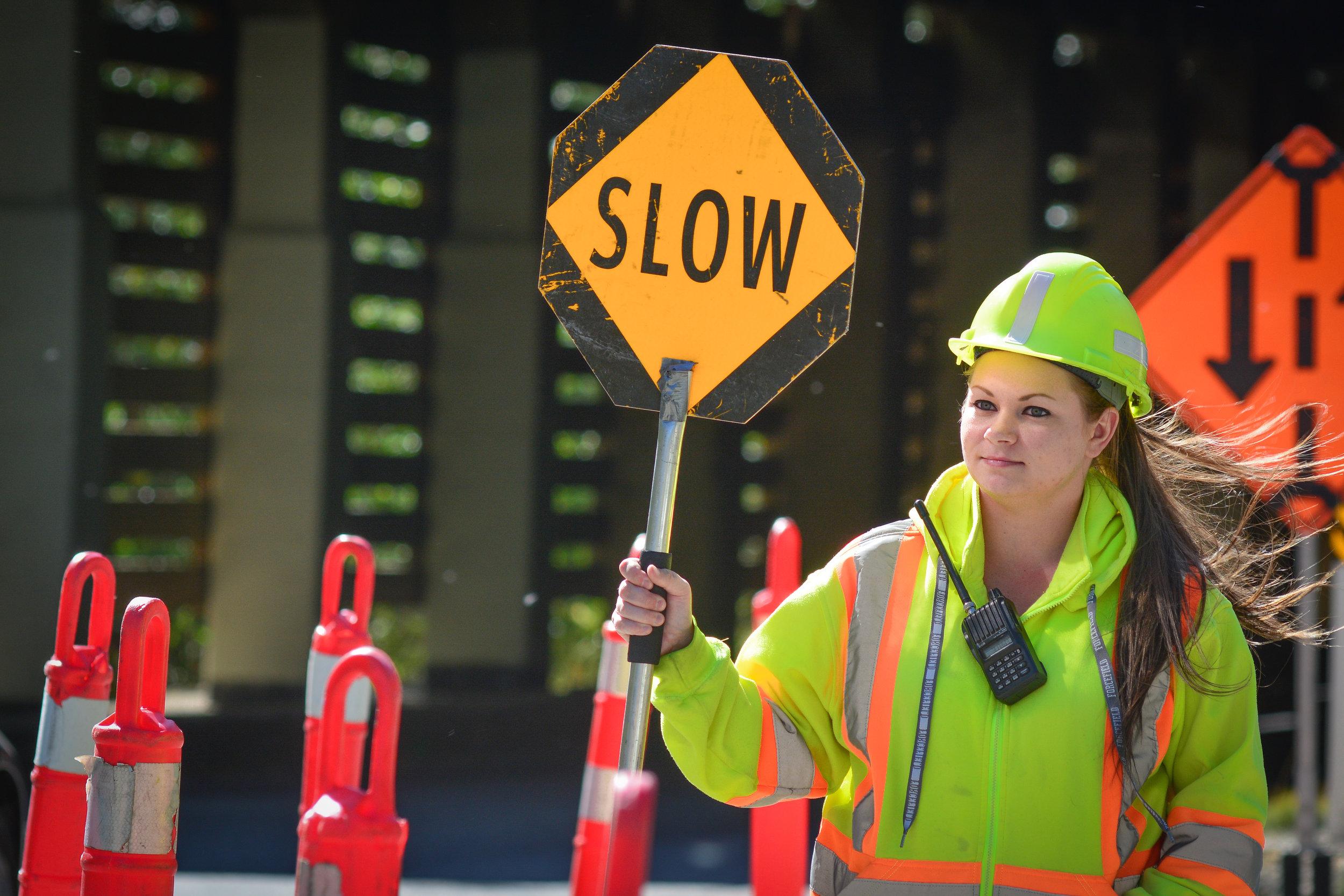 Traffic Control Training. -