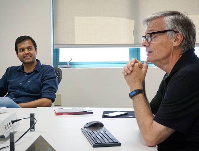 AI Lab researcher Bob Briggs introducing collaboration technology #sdsu #ai #collaboration