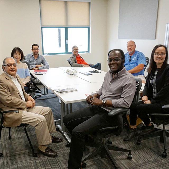 MIS department visit the AI lab. #sdsu #sdsumis #sdsufowler #ai