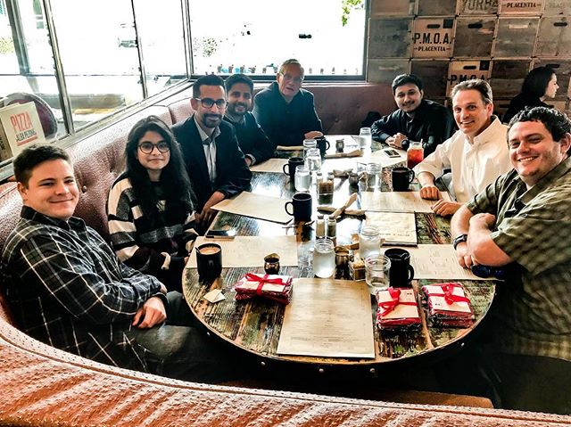 AI Lab lunch to celebrate the hard work of our wonderful students this semester.