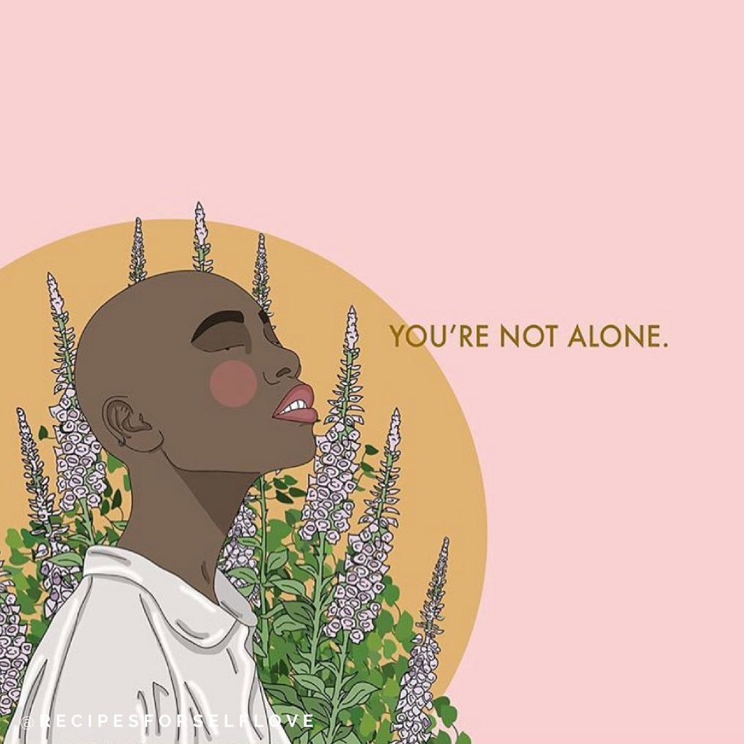 """""""We know. It's not something we want to talk about, but it's something many of us feel. And when we feel it, it's easy to want to turn away, to fold into ourselves, to doubt who we are. We know. You're not alone.""""    Affirmations when you feel rejected ."""