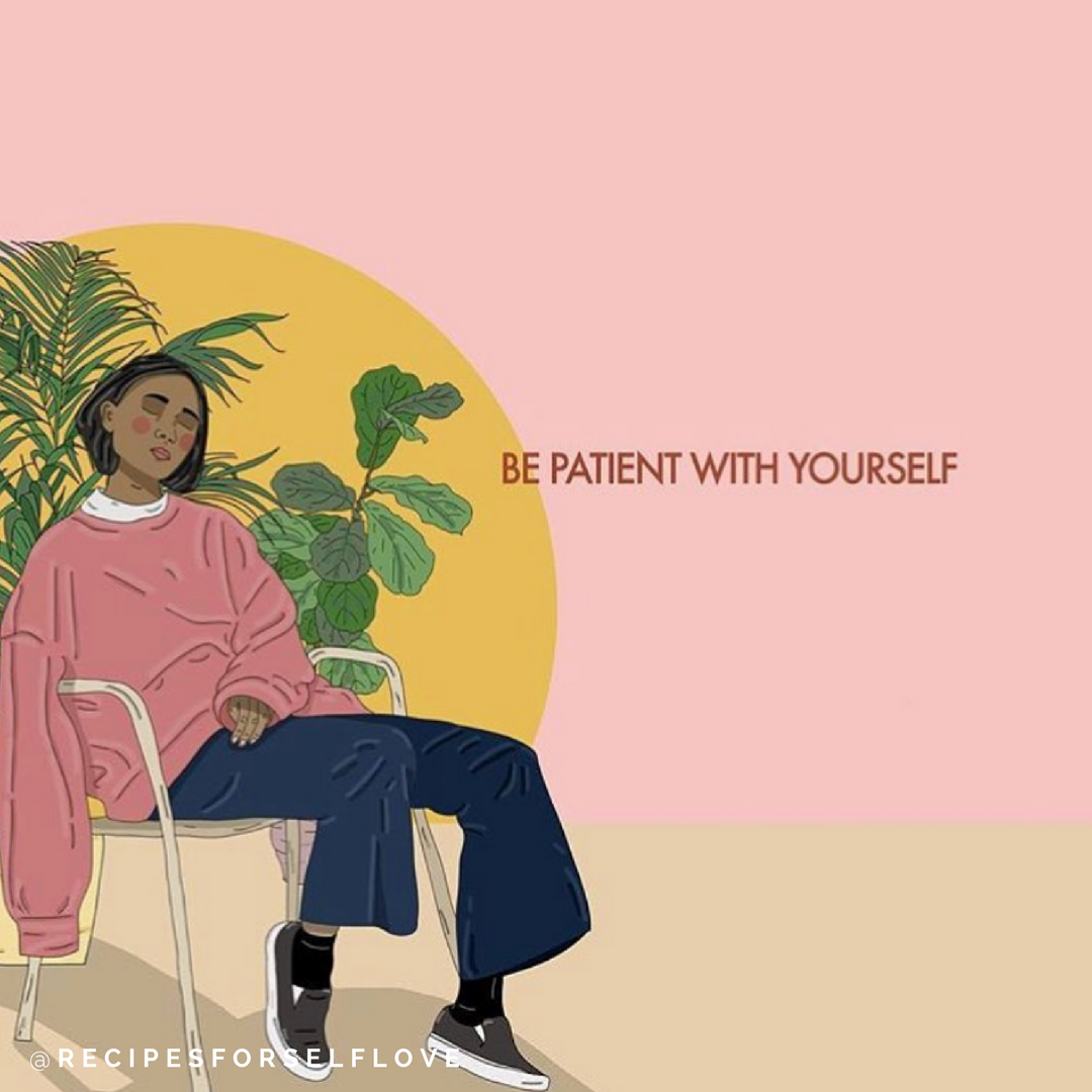 """""""I wish I knew how to talk to you. I wish I knew what to say. I wish when I said you're beautiful you believed me.""""    Affirmations to be more patient with yourself."""
