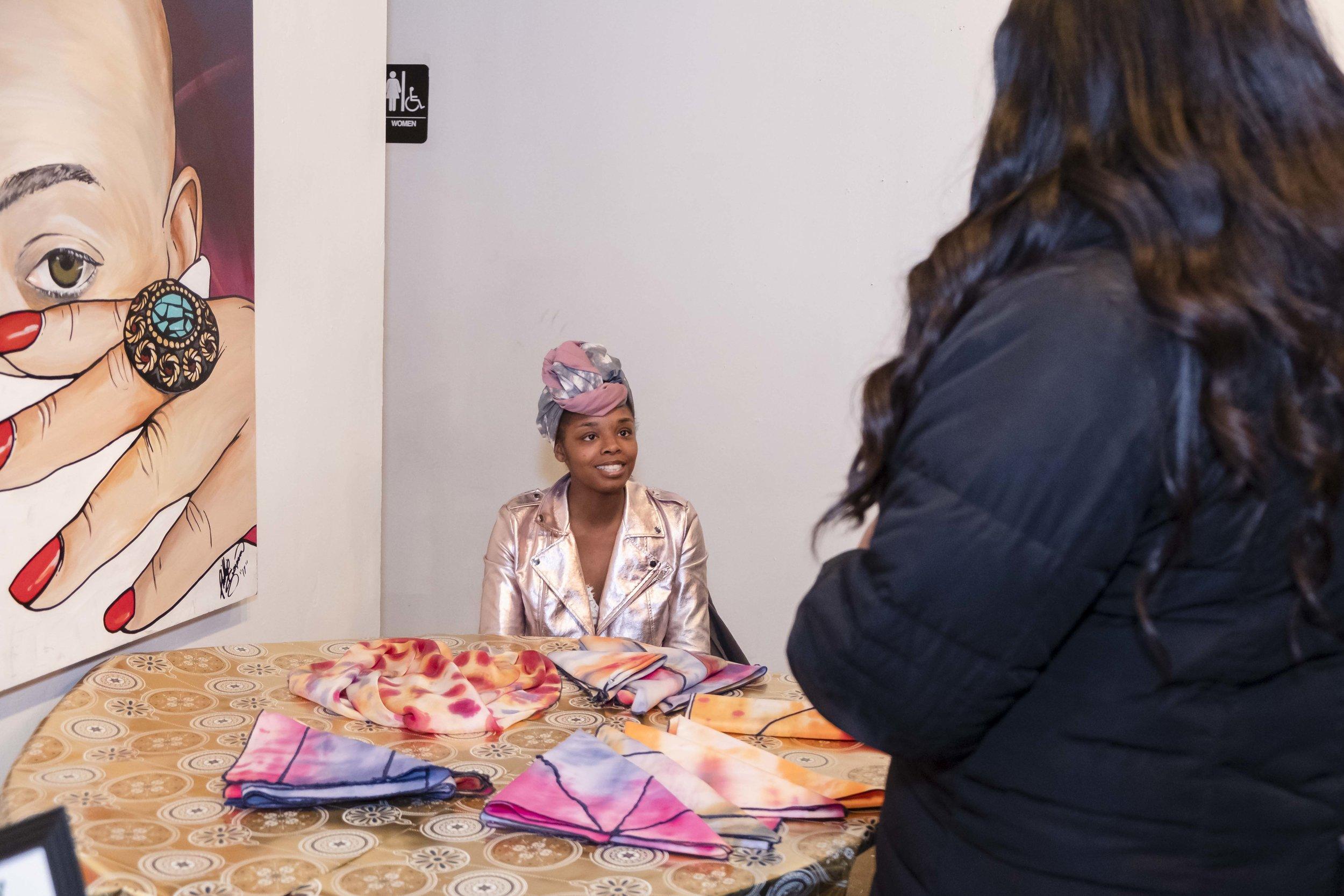 Taji: Adorned    |  Headwraps, Fabric Art & More!