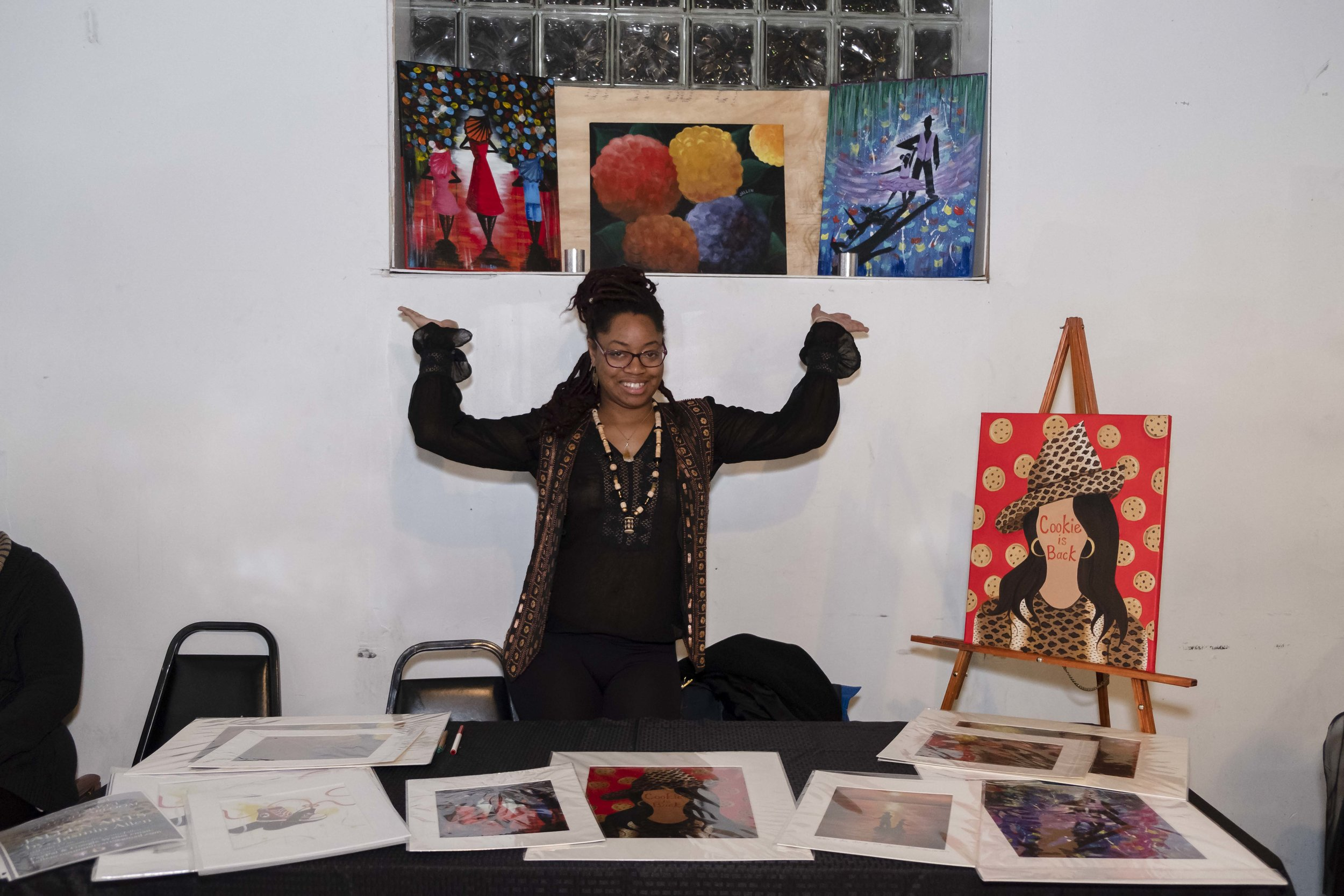 Jallen Arts    |  Paintings & More!