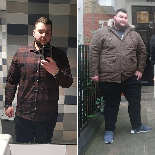 Donovan is down over 160 lbs 😱 Such incredible work, and he's not done yet - mid transformation and still going strong. 💪 Respect 🙌 ⠀ .⠀ Reposting @donovan_dacosta⠀ ...⠀ Transformation Thursday 😁⠀ .⠀ #weightloss #weightlosstransformation #diet #dietfood #kinobody #afl #bodybuilding #lifechanges #gym #fitness #motivation #nevergoingtogiveup #fatlossjourney #fatloss #protein #transformation #dedication #weightlifting #diet #obesetobeast #gymsquad #myprotein #IntermittentFasting ⠀ #transformationthursday #keepstrong #weightlossjourney