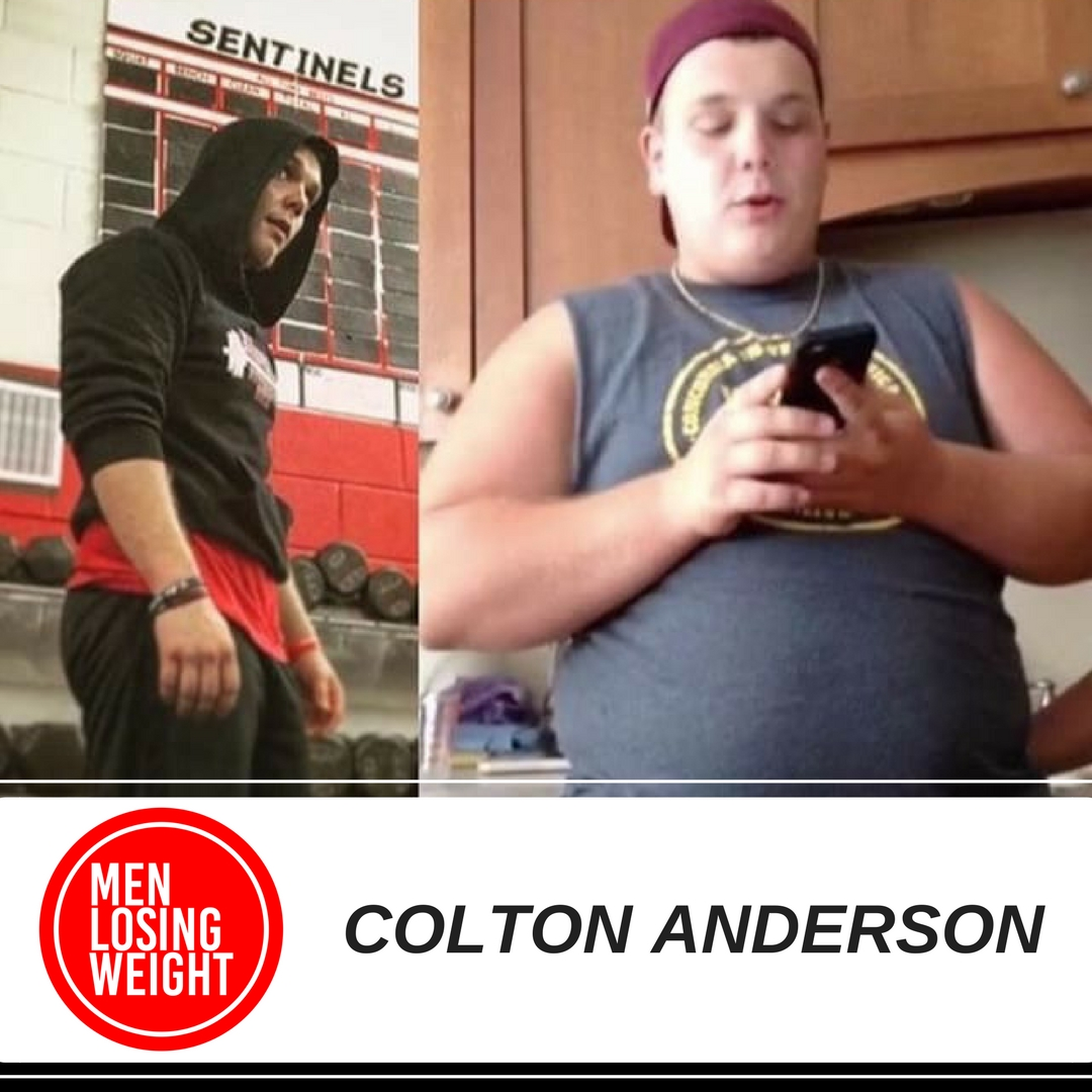 MEN LOSING WEIGHT - COLTON ANDERSON