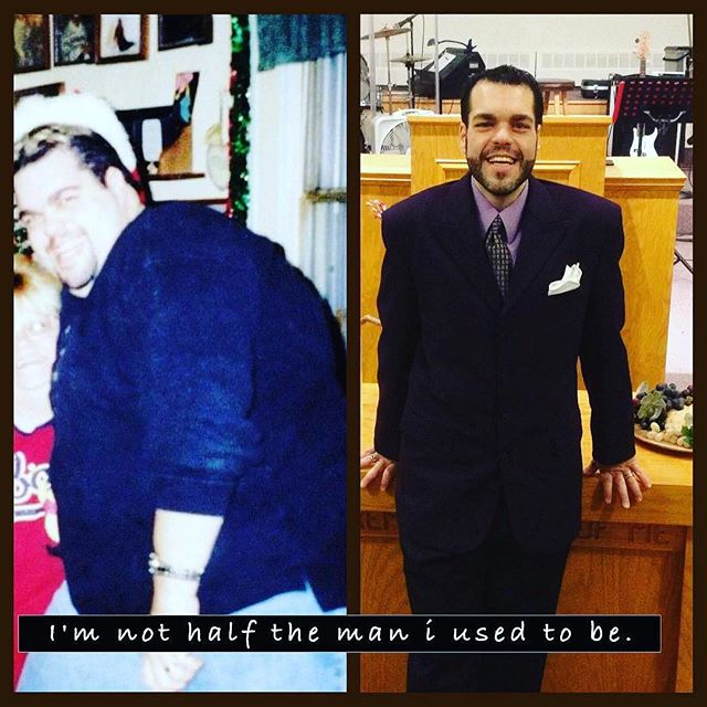 Brian is down over 200 lbs! 🔥 That's no typo! Beyond words - what a transformation! 👏⠀ .⠀ Reposting @imhalftheman⠀ ...⠀ I'm half the man I used to be!⠀ #weightlossjourney #gastricbypass #tummytuck #fattofit #fitnessjourney #obesetobeast #o2b #weightlossmotivation #weightloss  #igweightloss  #slimmingworld #slimmingworldmen #fitfam #fattofit #beastmode #paleo #keto #ketodiet #ketoweightloss #veganweightloss