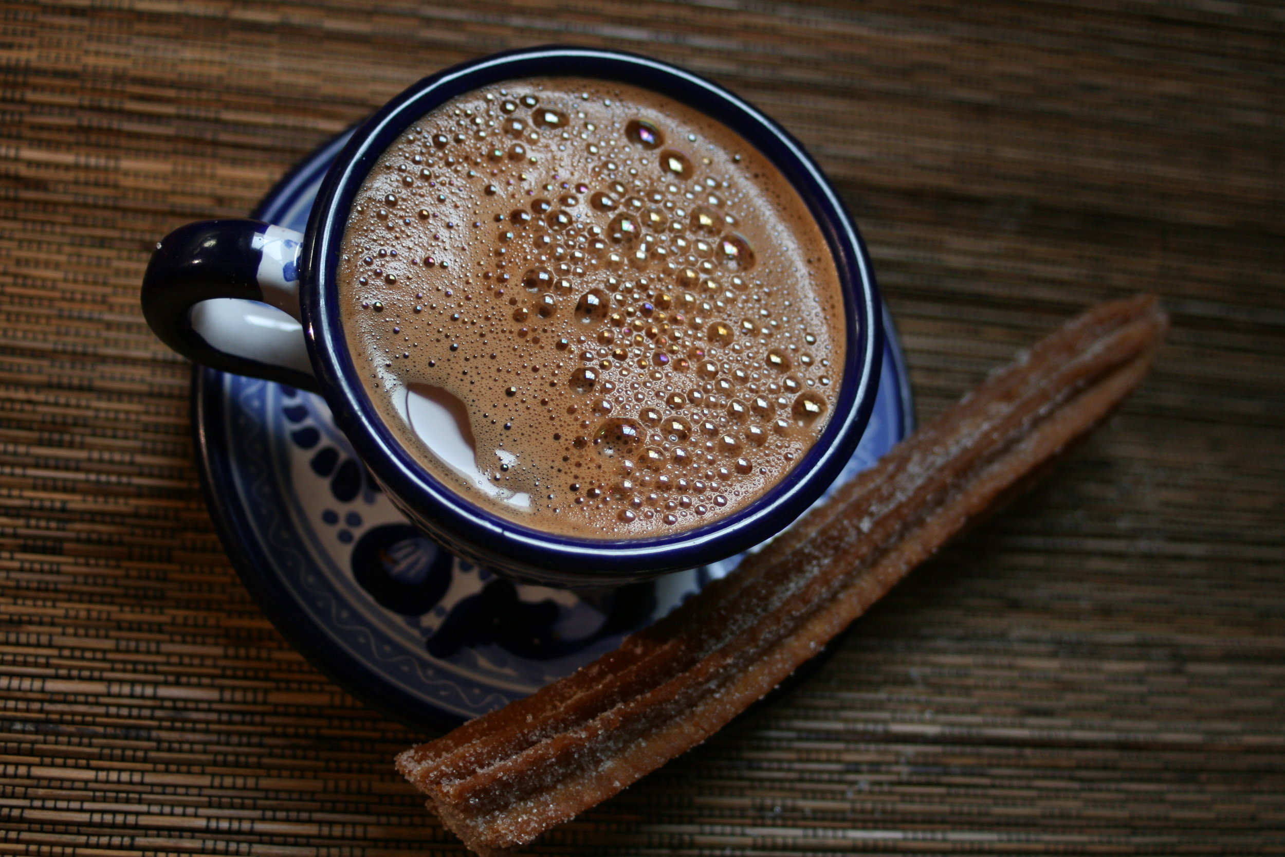 3 . Quick Mexican Hot Chocolate, p   hoto by Adriana Almazan Lahl from Celebraciones Mexicanas. ALL RIGHTS RESERVED.