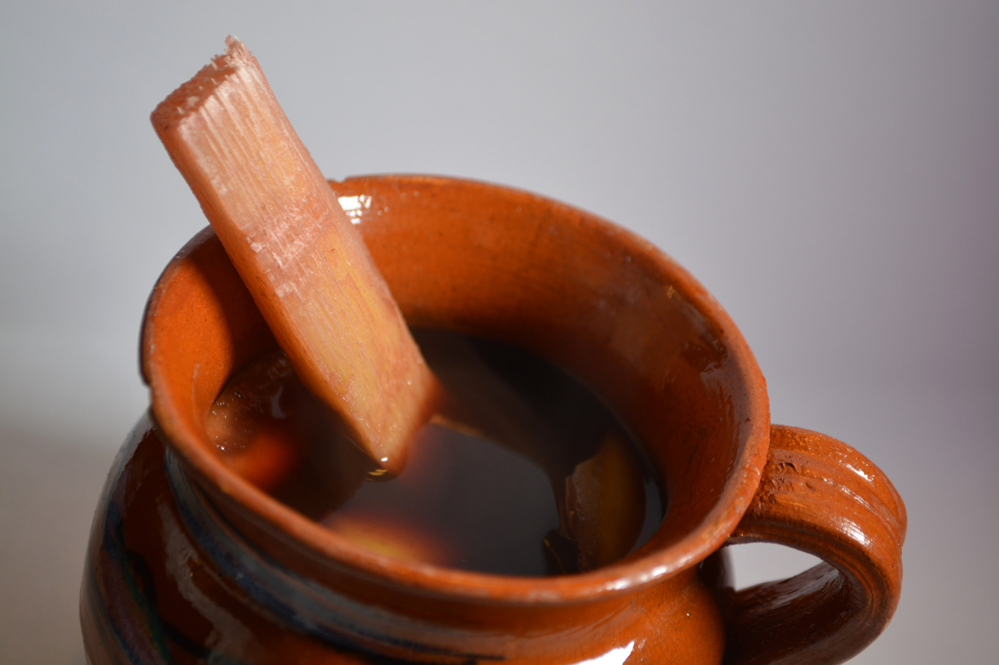 5 . Quick Mexican Holiday Punch -    Ponche with Sugar Cane, photo by Protoplasma K.
