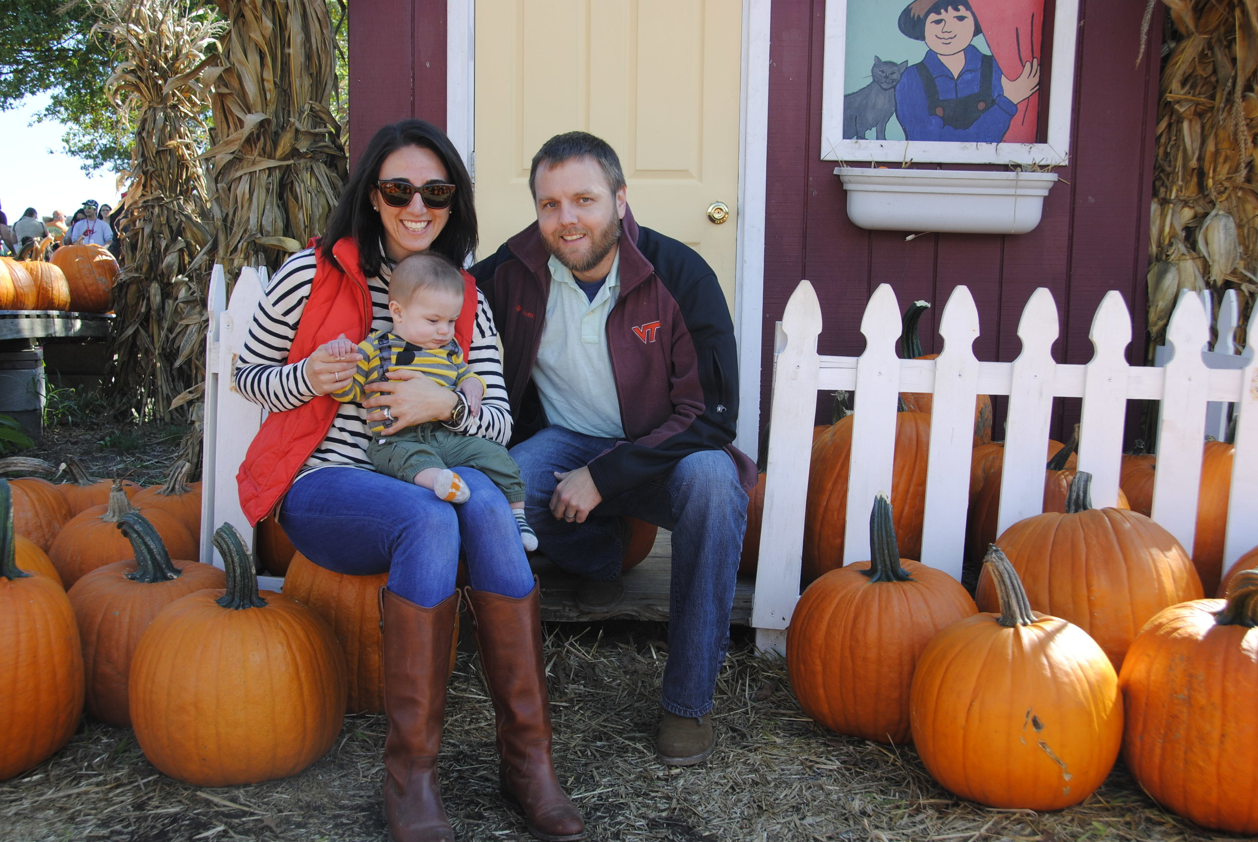 Happy family of three from Virginia hoping to adopt a child