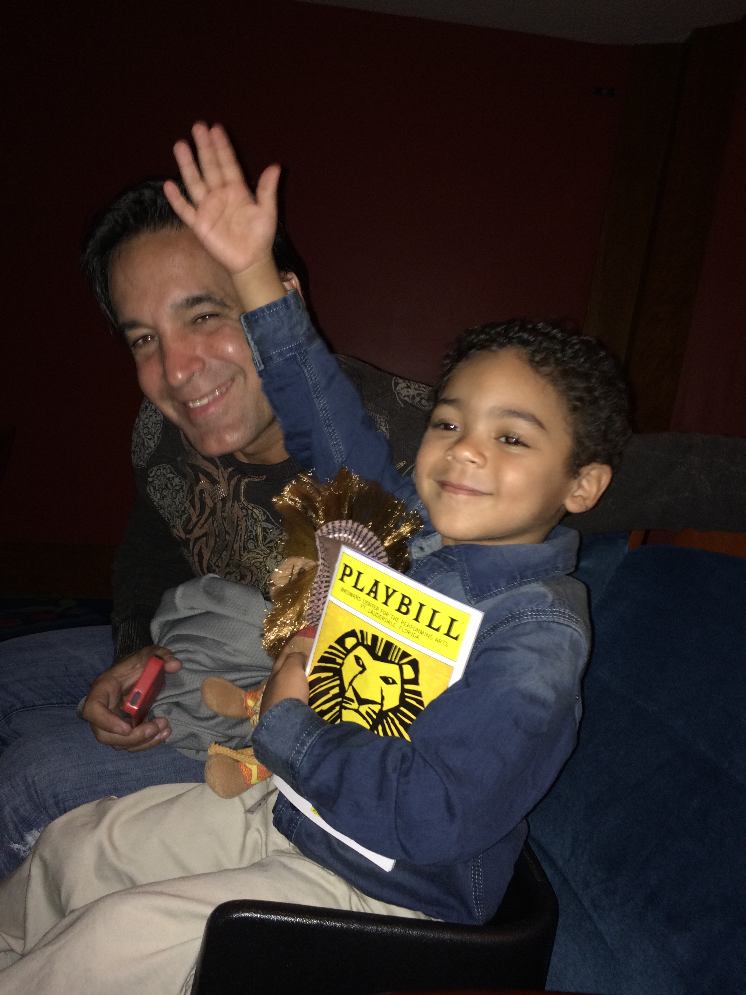 At the Lion King