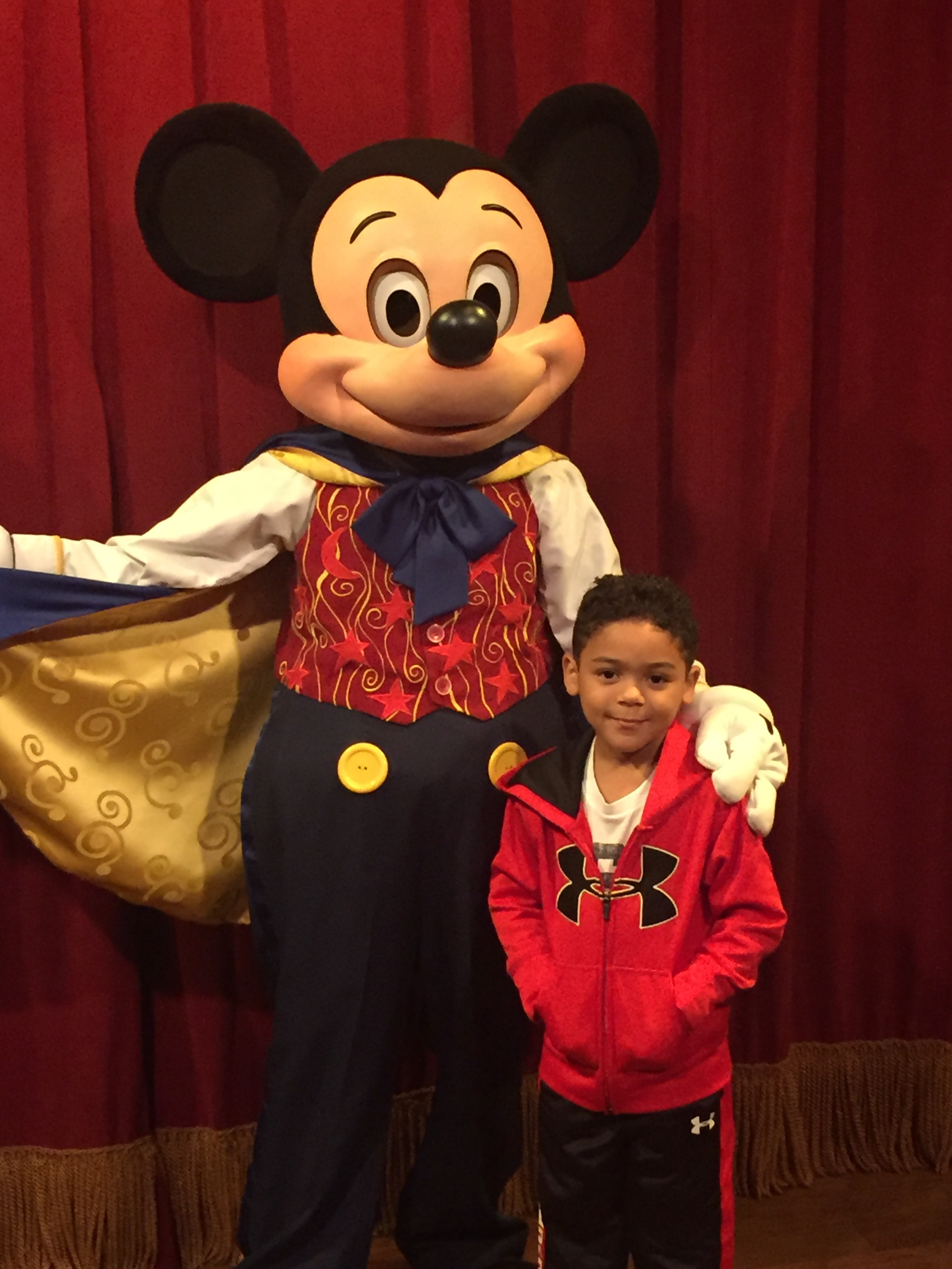 We love Mickey Mouse