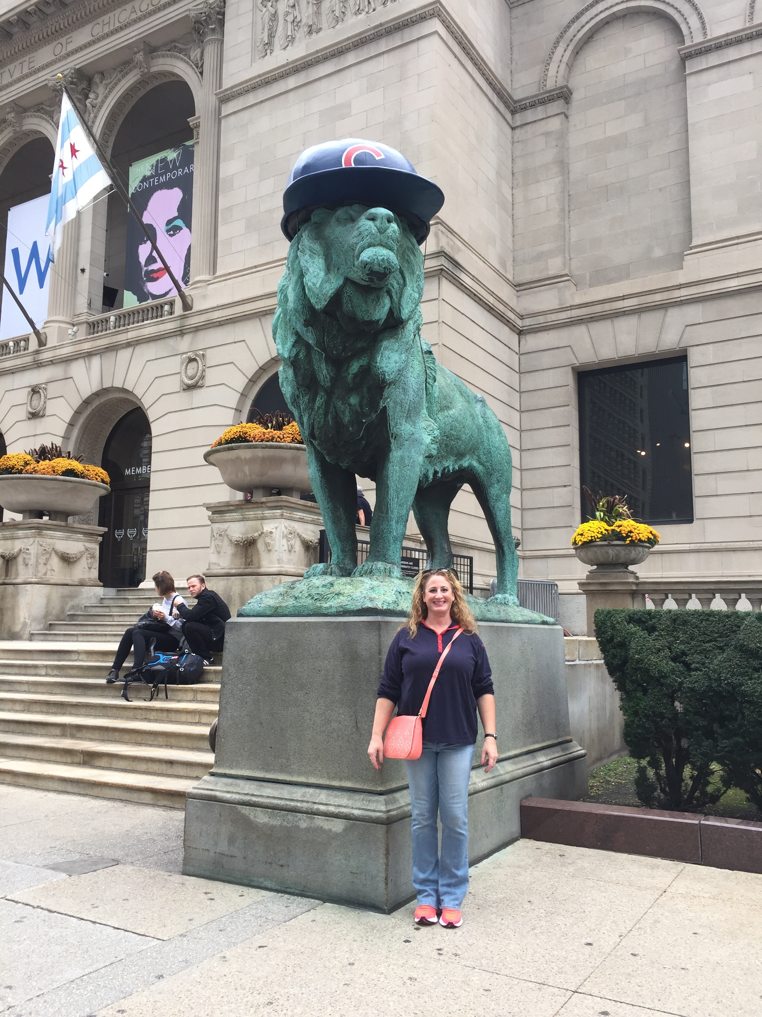Visiting the Art Instititute in Chicago