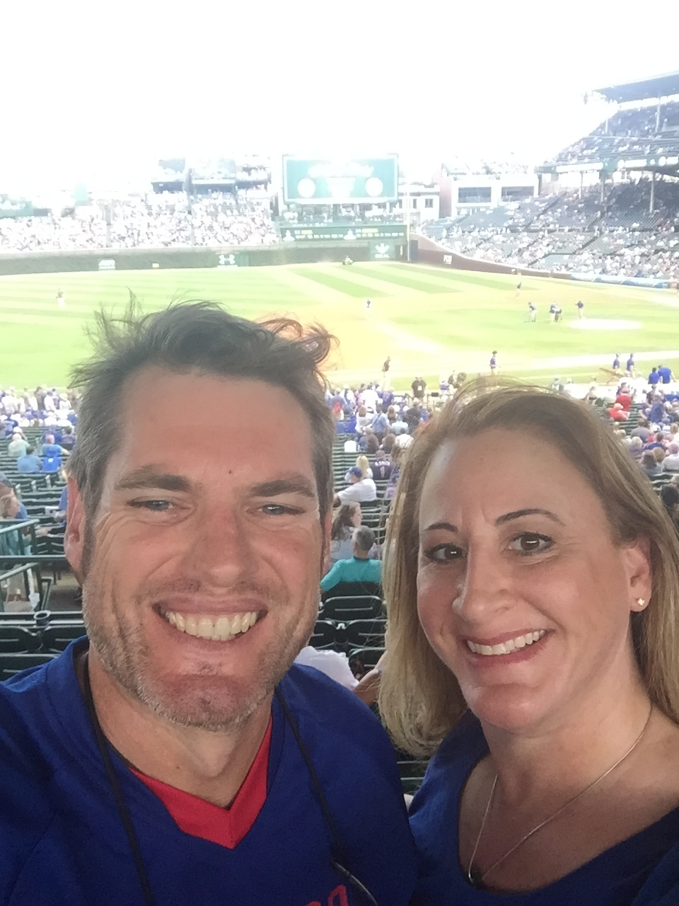 We love going to Cubs baseball games