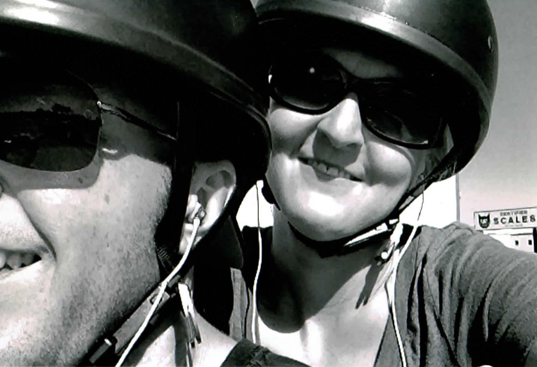 Candy and MJ Bike Close up.jpg