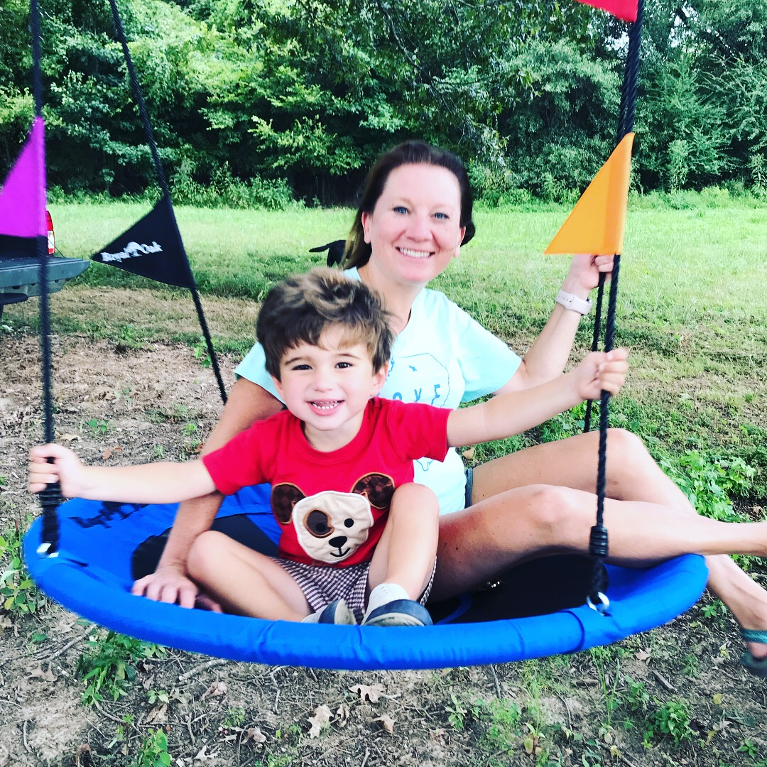 We love our new tree swing!