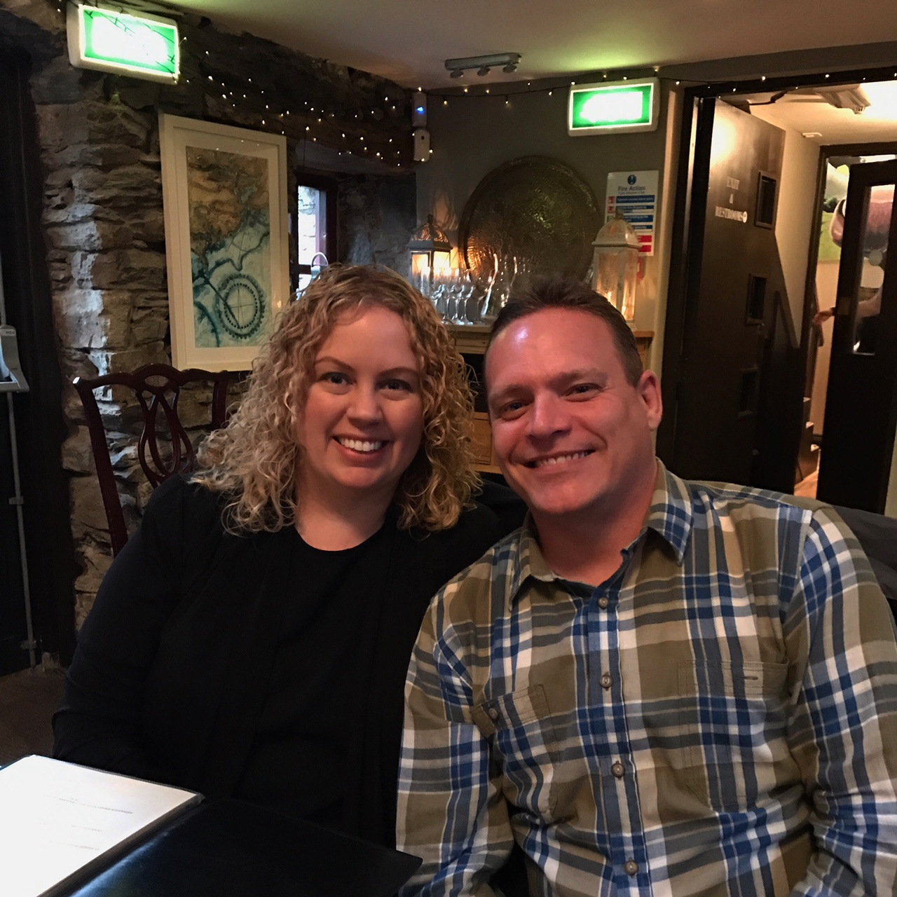 Out to dinner in Ireland