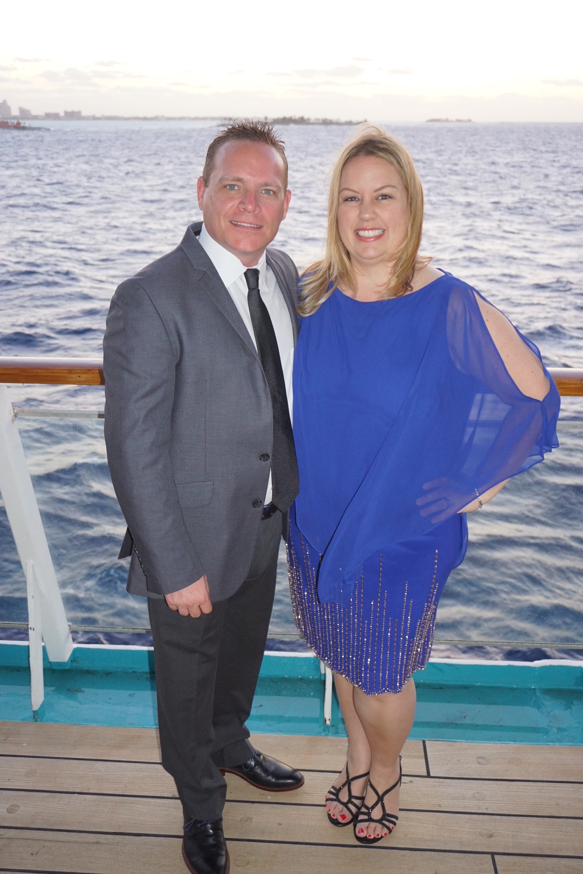 On a cruise for Keri's birthday