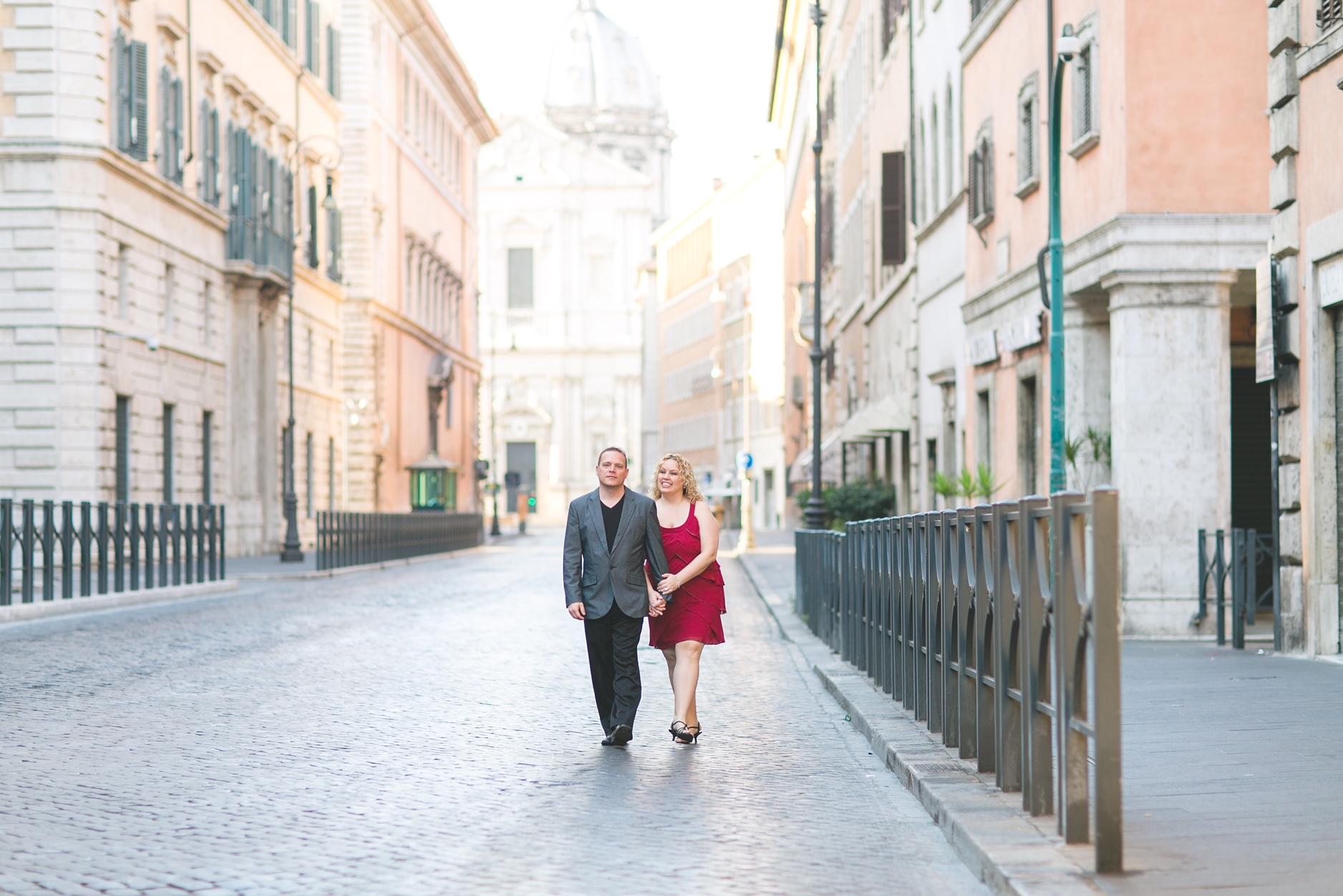 Walking around Rome