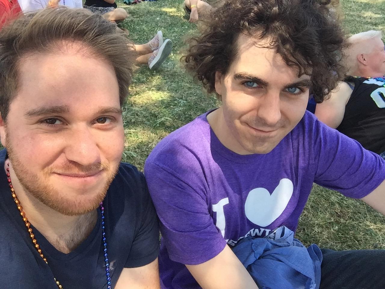 Celebrating at Capitol Pride in DC
