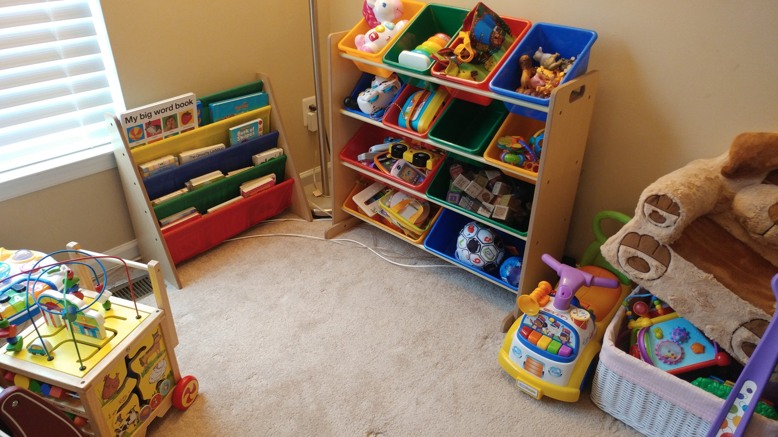 Part of our playroom