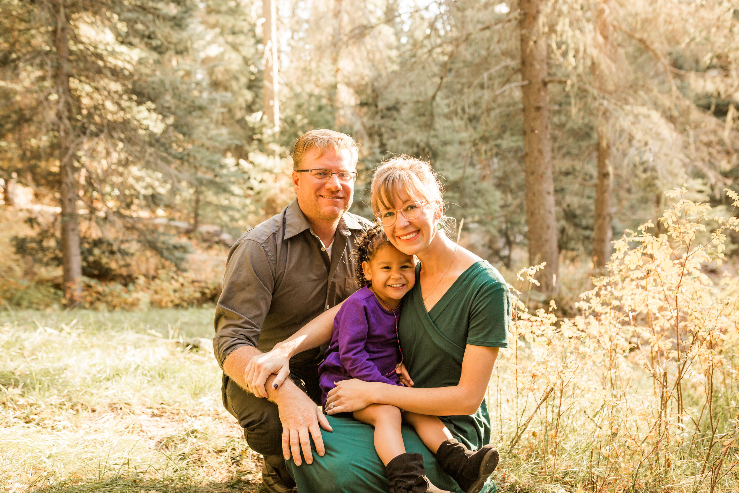 Loving, happy family excited to adopt another child