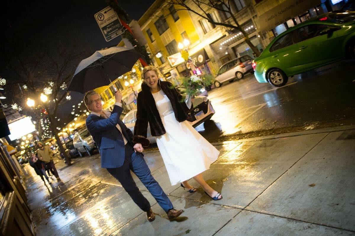 Our Wedding.  Happy days ahead!