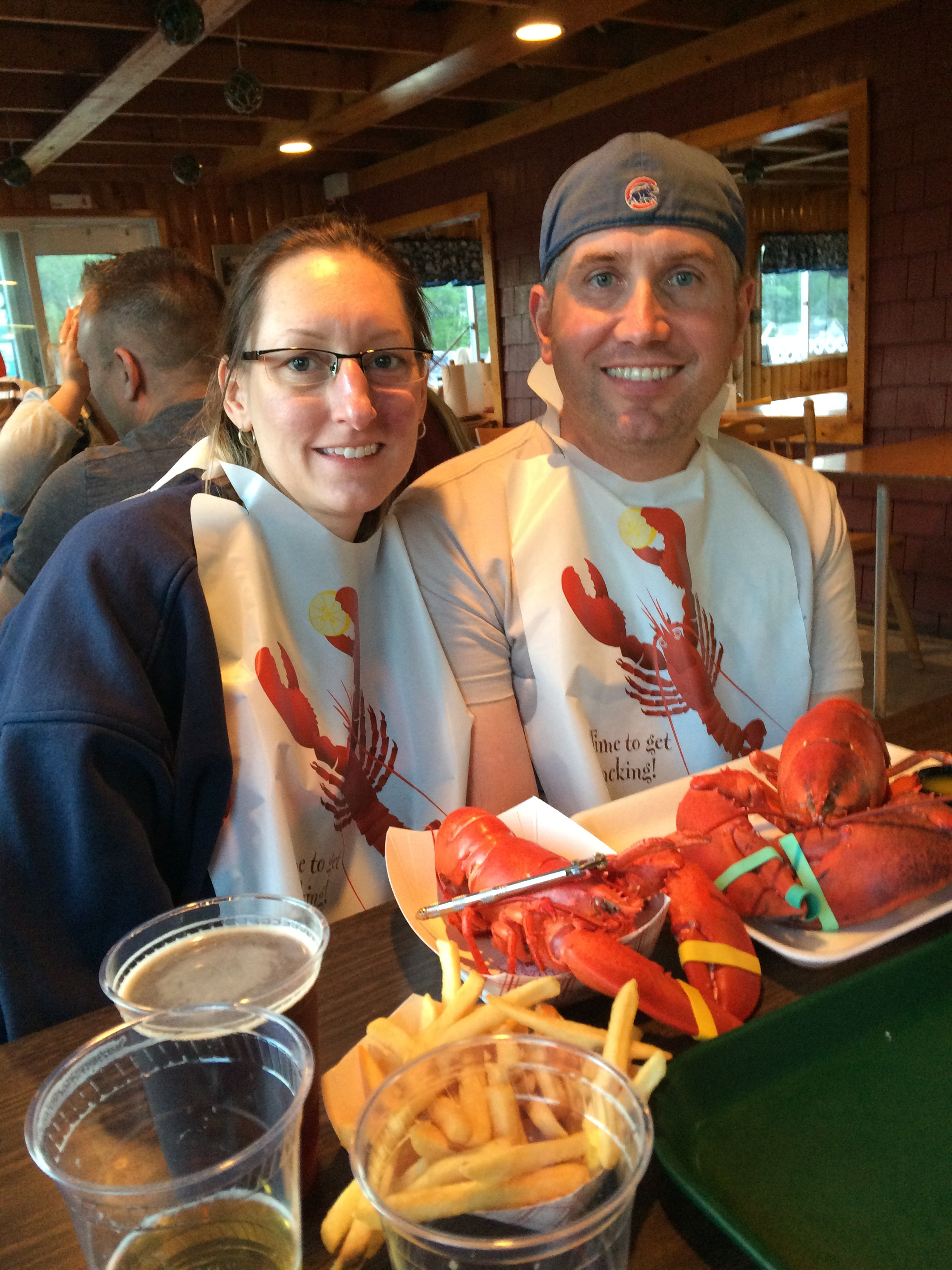 Maine Lobster, Pete's favorite!