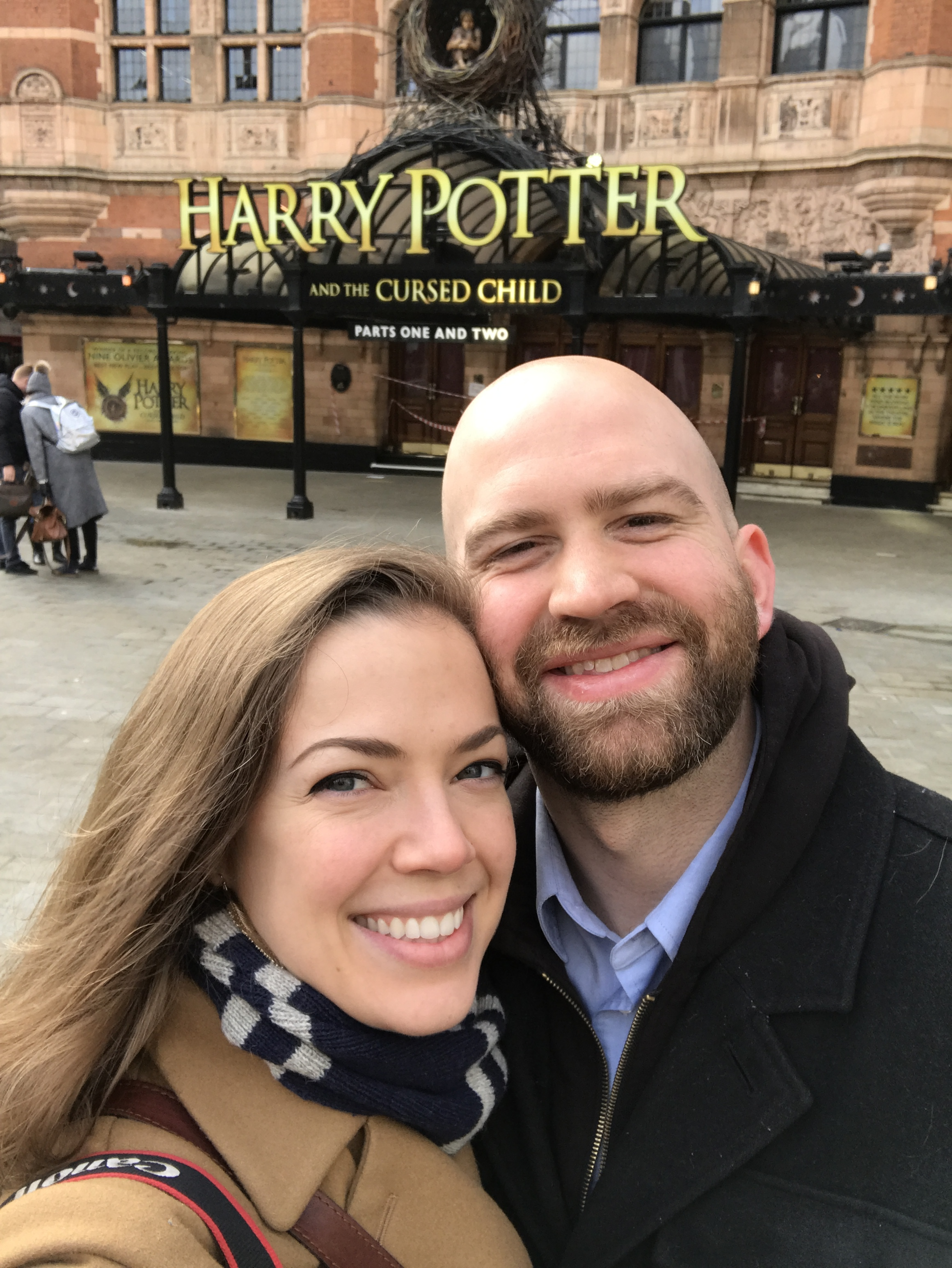 We went to London to see the Harry Potter play- it was incredible