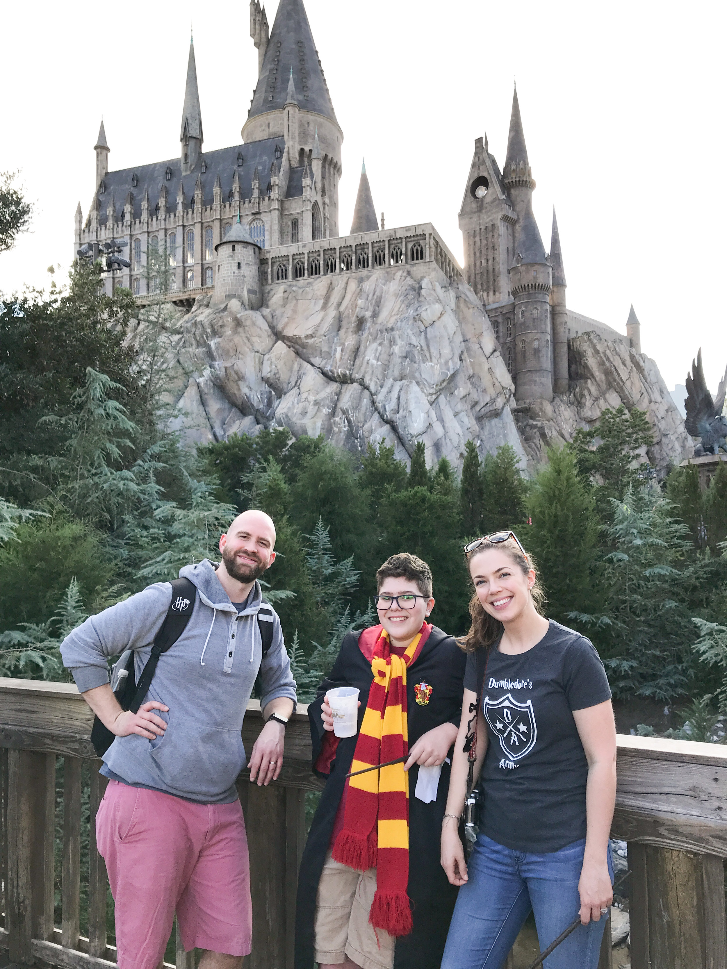 We surprised our nephew with a trip to Universal Studios- he was SO excited, and we had a blast