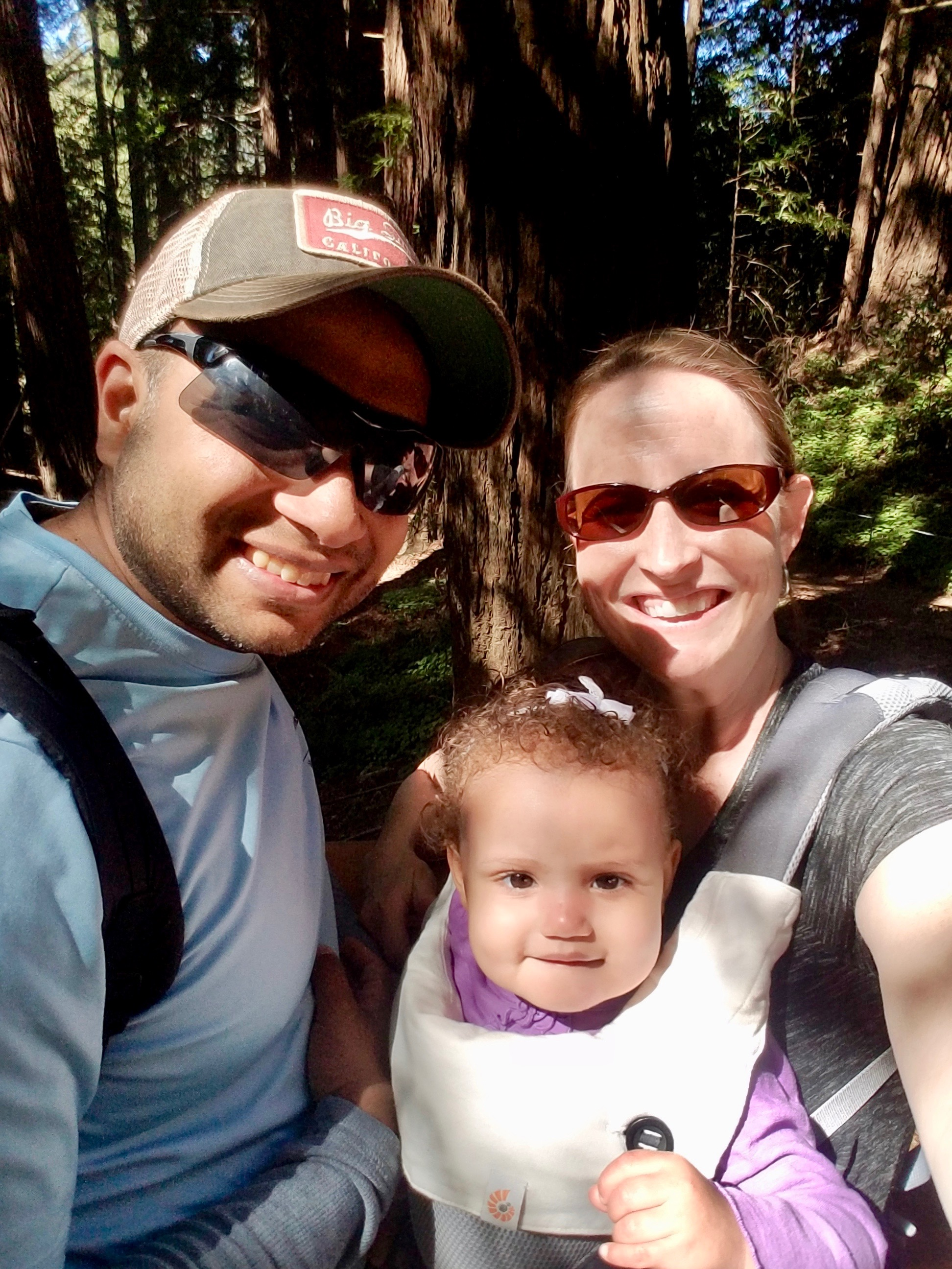 Hiking the Big Red Woods