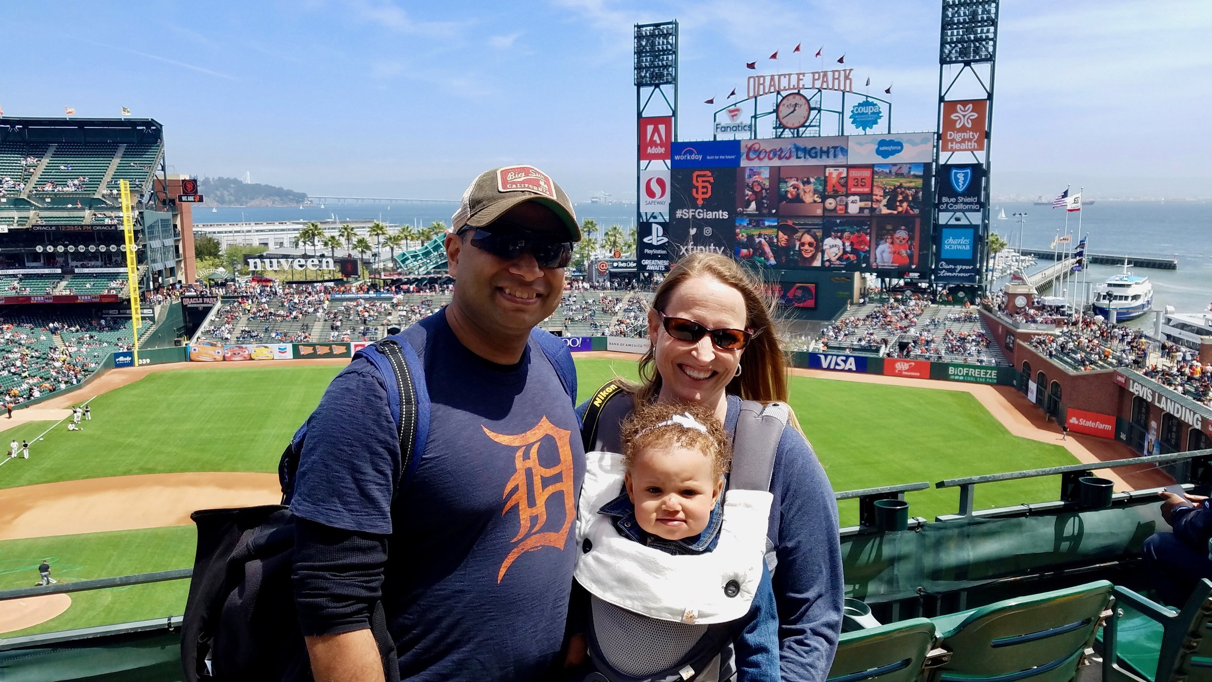 Baseball Game in SF