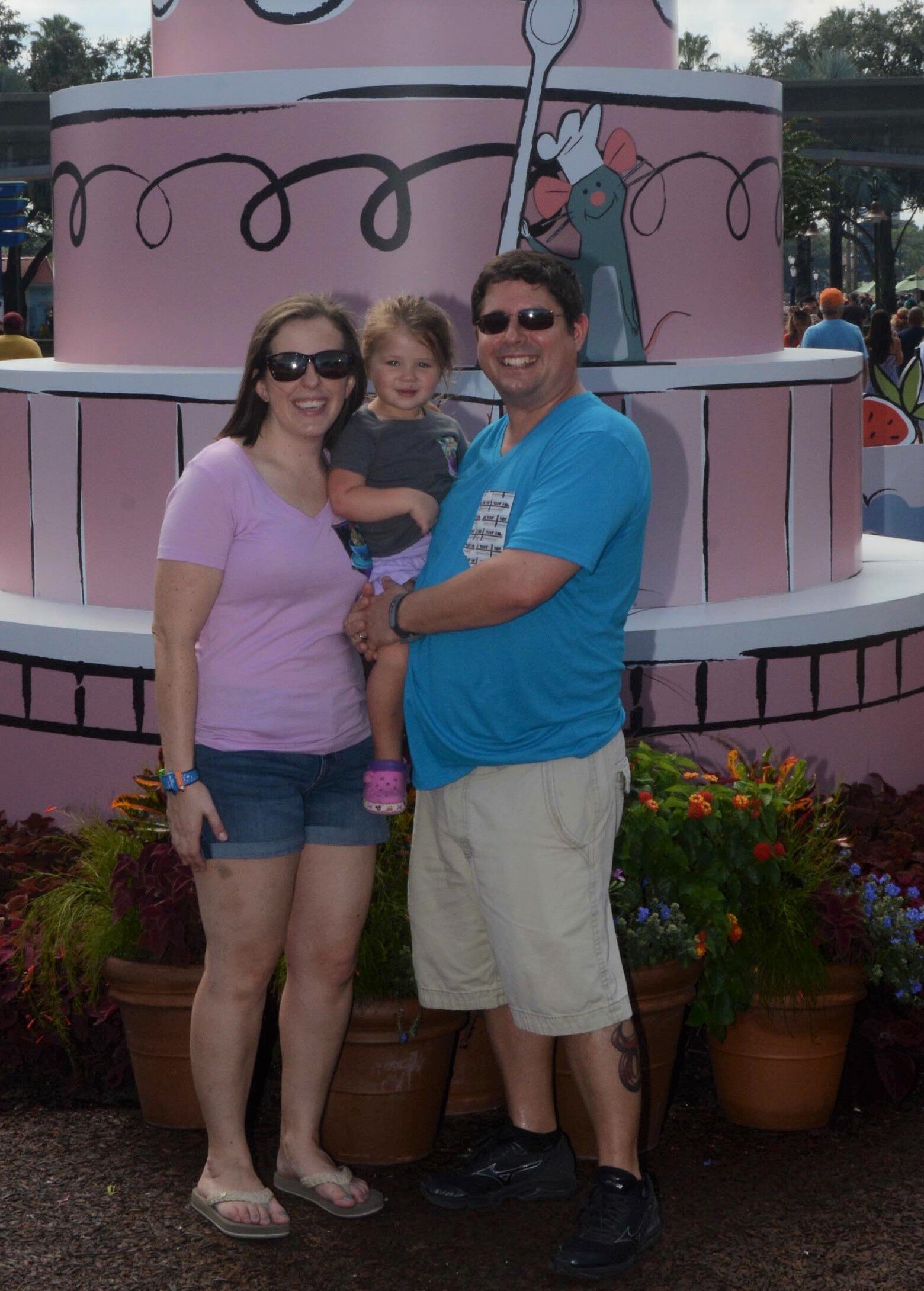 Spending time at Epcot