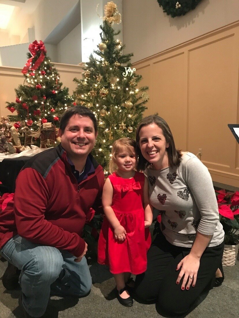 At our daughter's Christmas performance