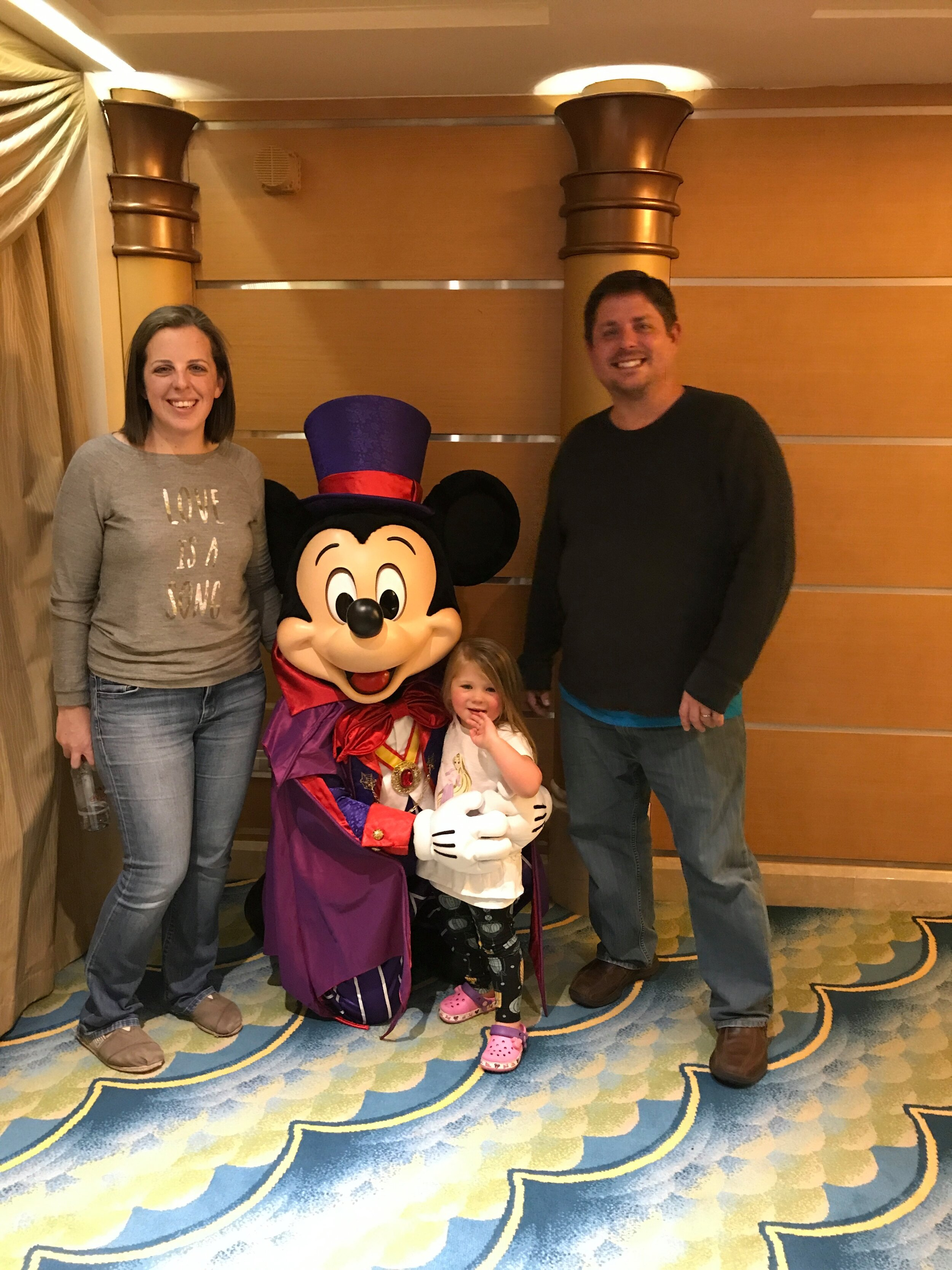Halloween with Mickey on the Disney Cruise