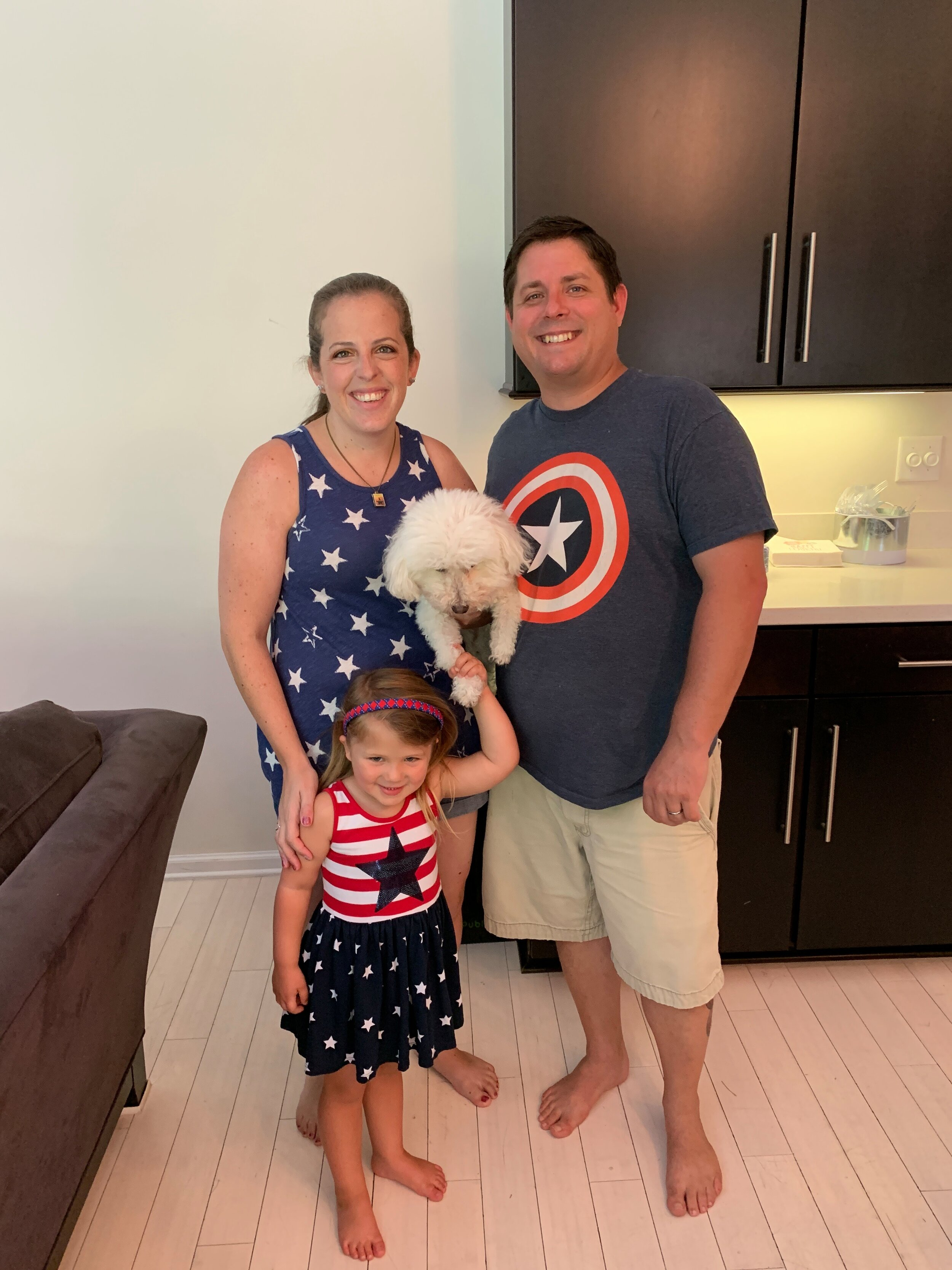 At our annual 4th of July party