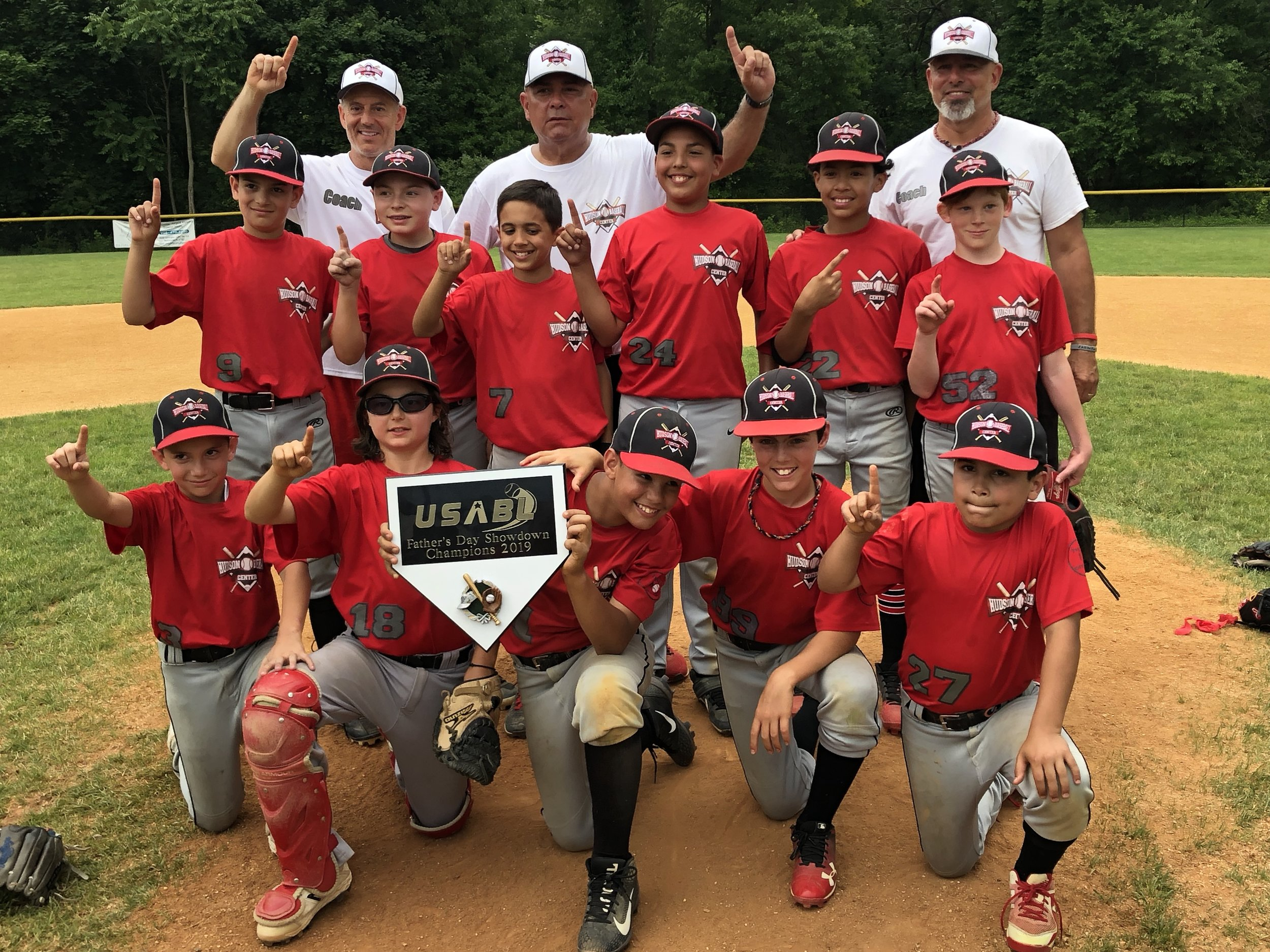 2019 USABL-Fathers Day Showdown Champs-11U