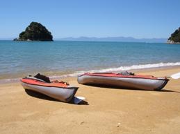 Kayaking Golden Bay