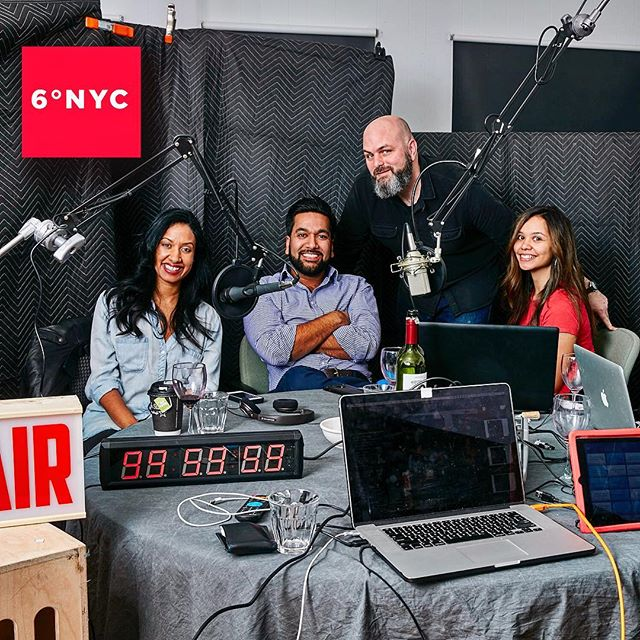 Episode 105 is out now, with  our featured guest Jahan Mantin! She helps us tackle the small and uncomplicated topic of race 😉 #podcastlife #sixdegreesnyc #unicornsandcookies